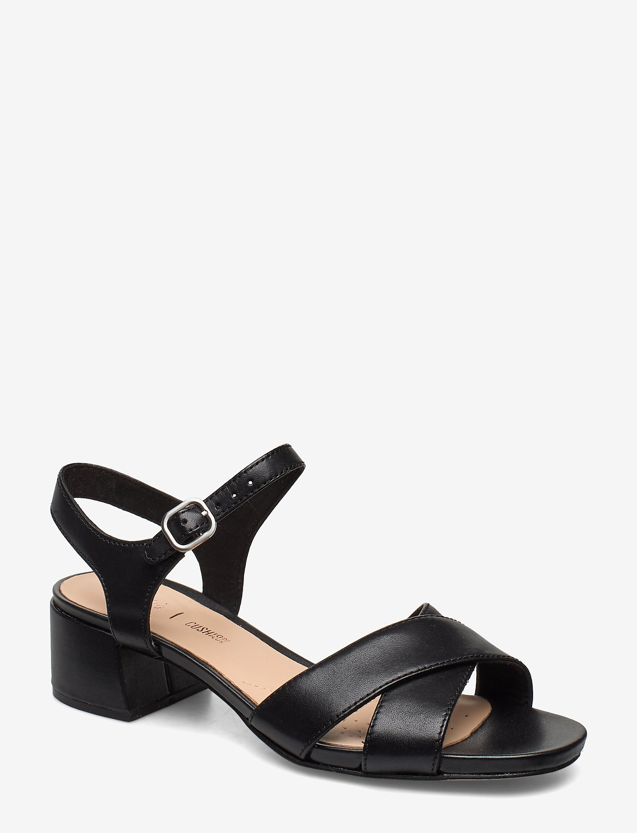 Clarks - Sheer35 Strap - sandales à talons - black leather - 0