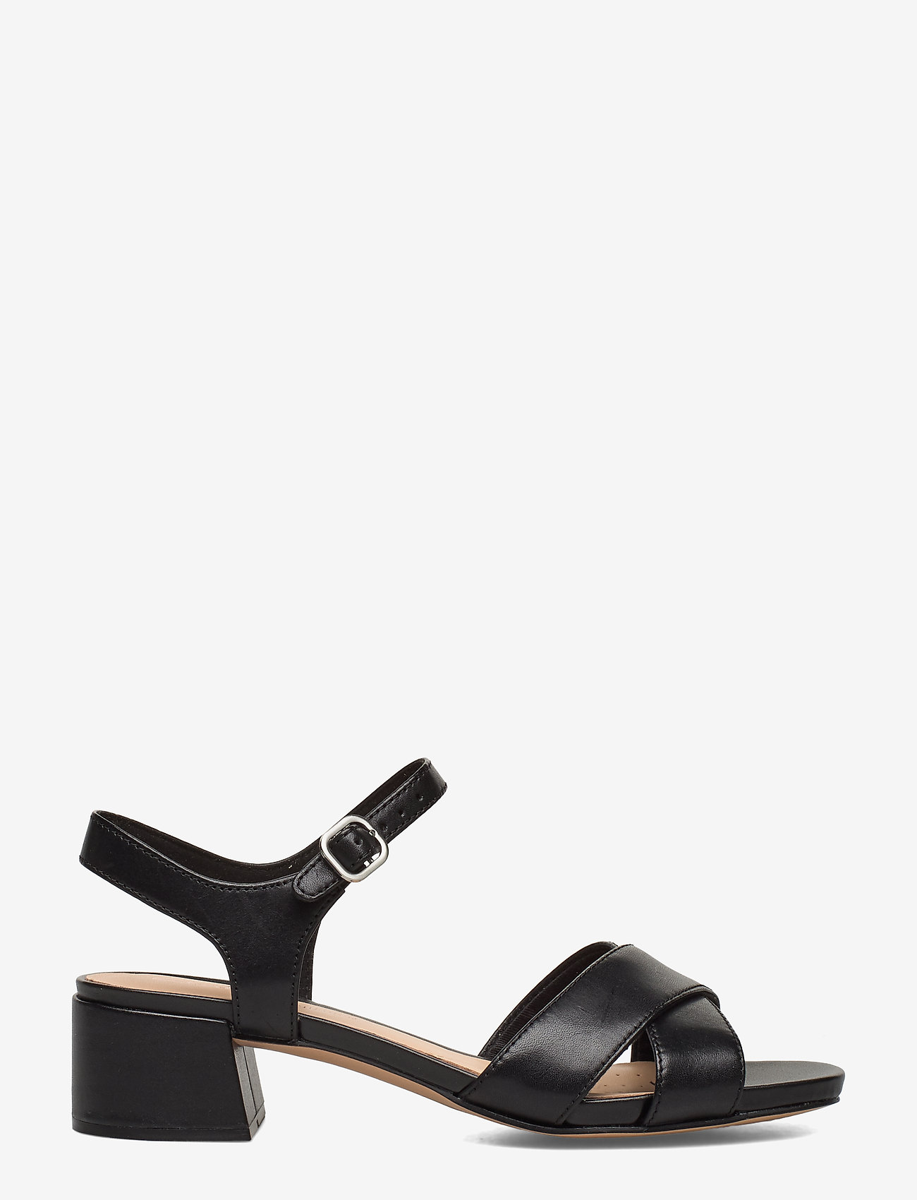 Clarks - Sheer35 Strap - sandales à talons - black leather - 1