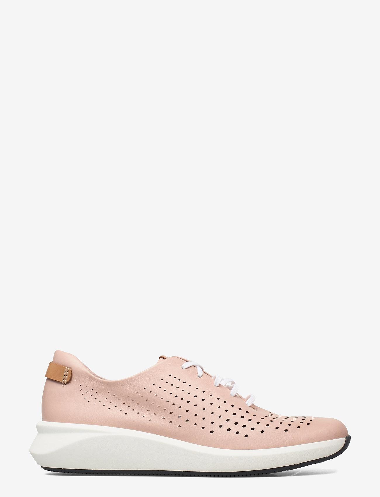 Clarks - Un Rio Tie - låga sneakers - blush leather - 1