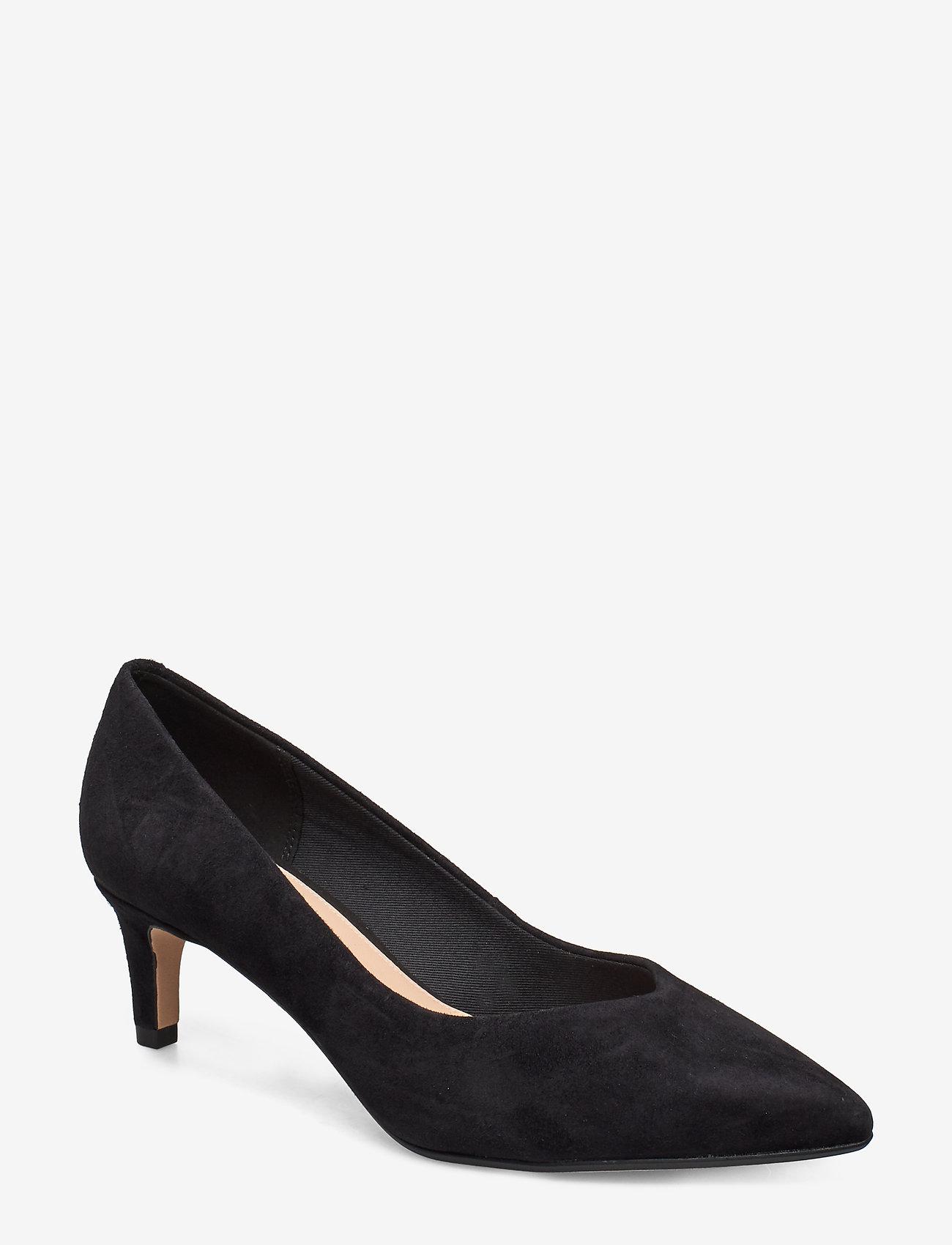 Clarks - Laina55 Court - klassiske pumps - black sde - 0