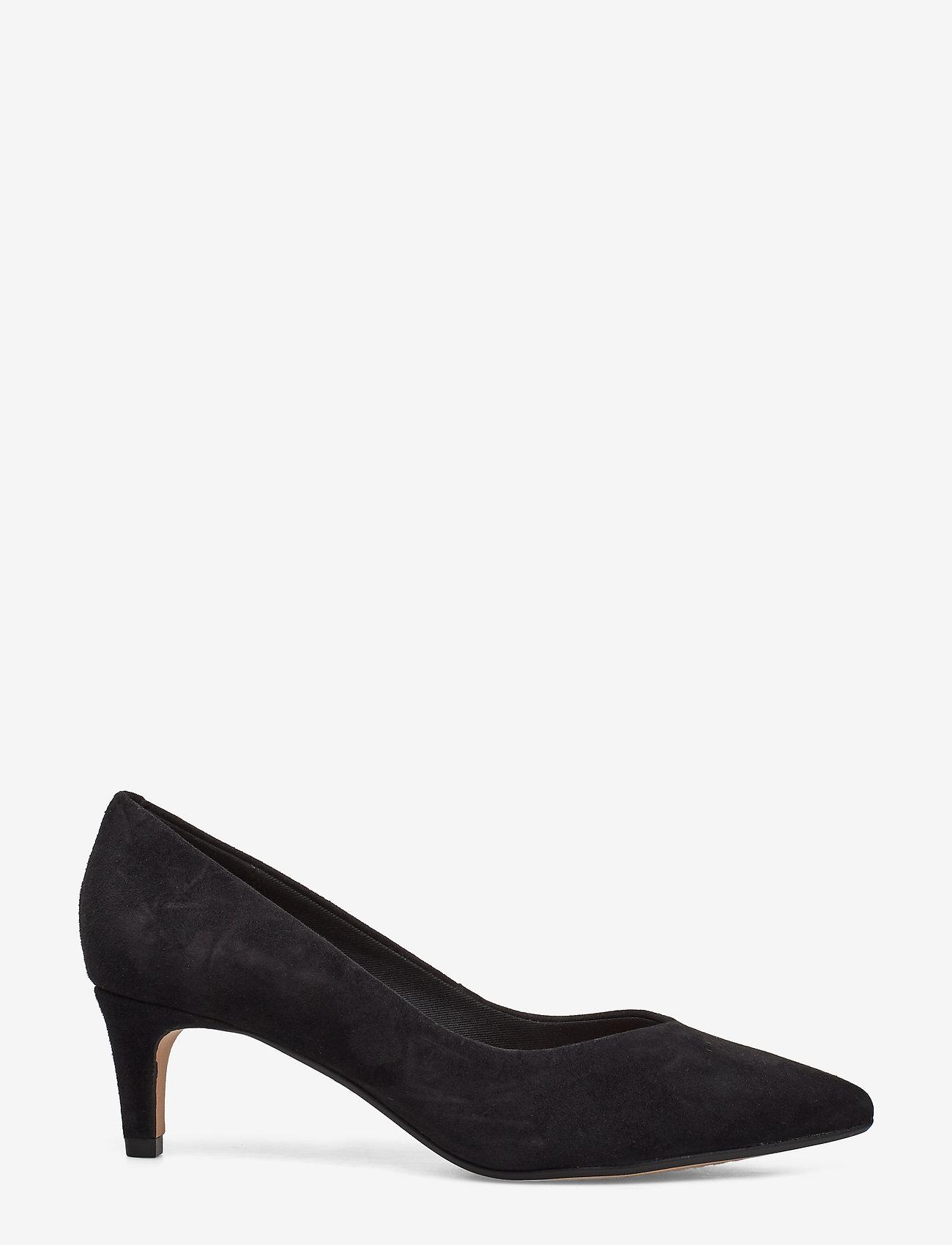 Clarks - Laina55 Court - klassiske pumps - black sde - 1