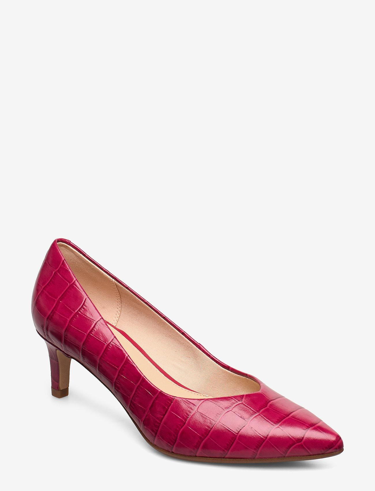 Clarks - Laina55 Court - escarpins classiques - fuchsia - 0
