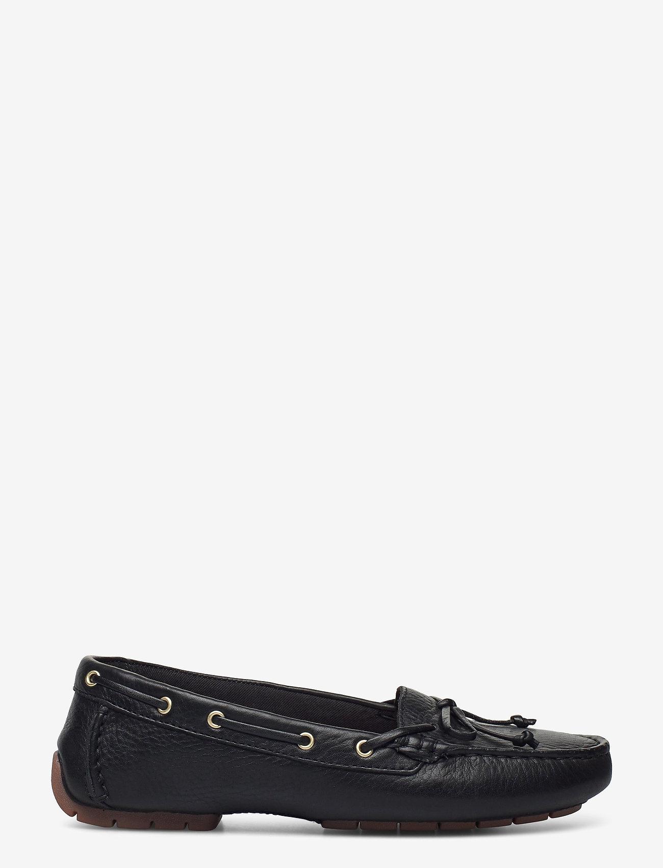 Clarks - C Mocc Boat - loafers - black leather - 1