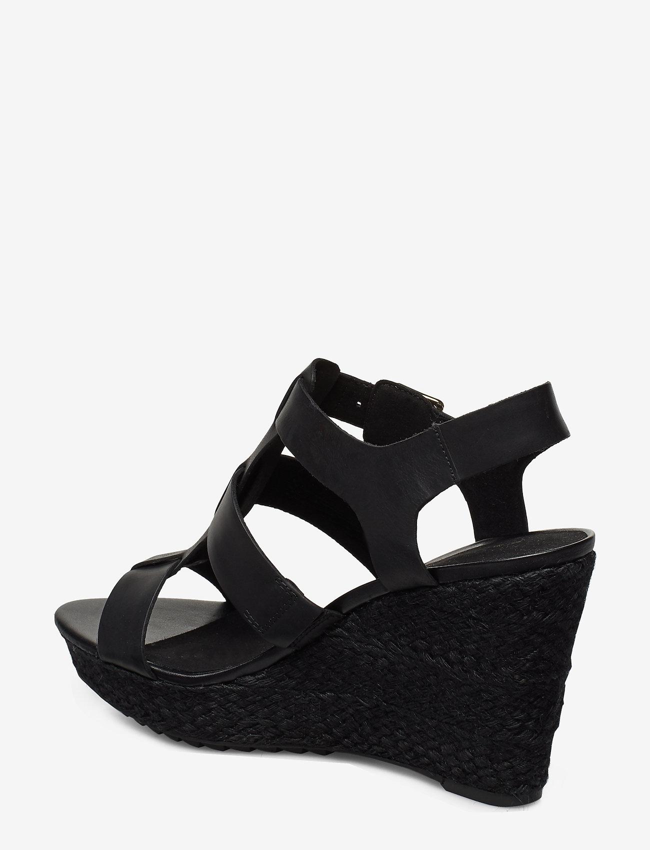 Maritsa95 Glad (Black Leather) - Clarks
