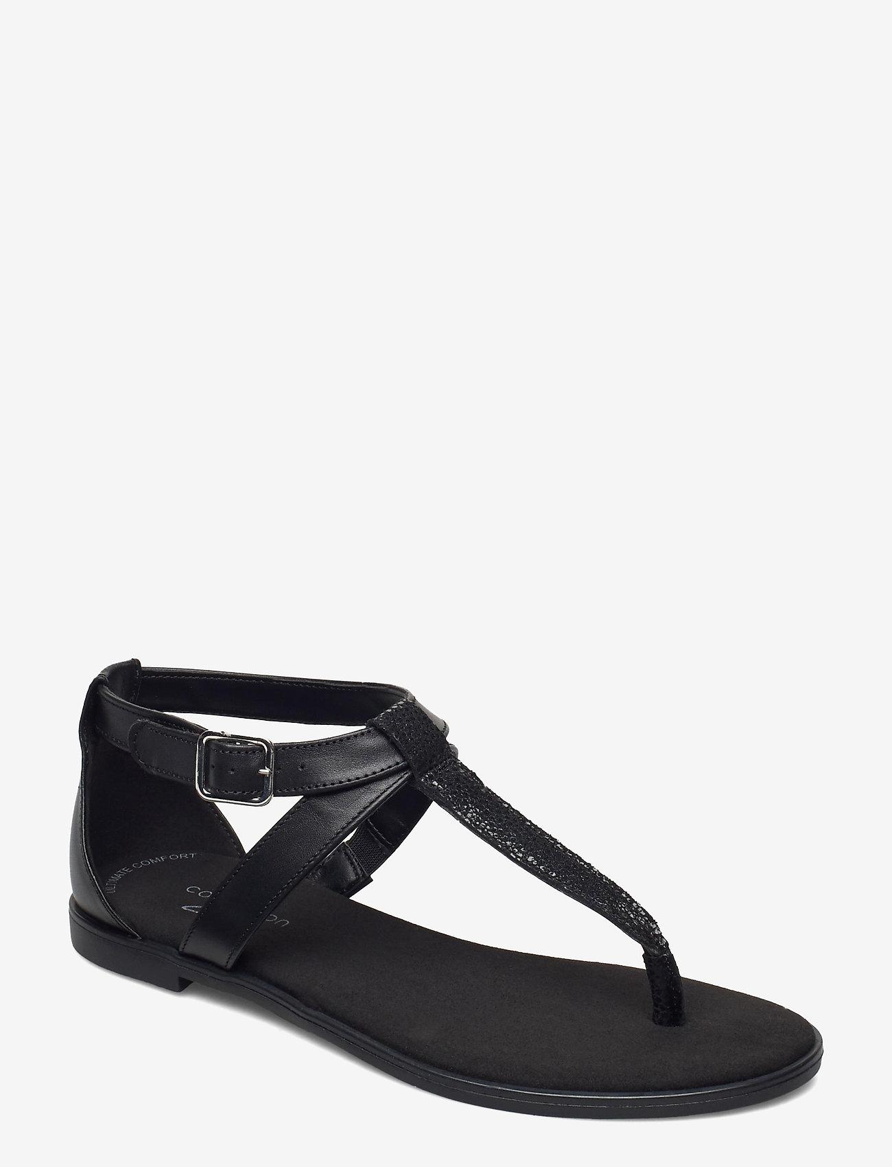 Clarks - Bay Post - platta sandaler - black interest - 0