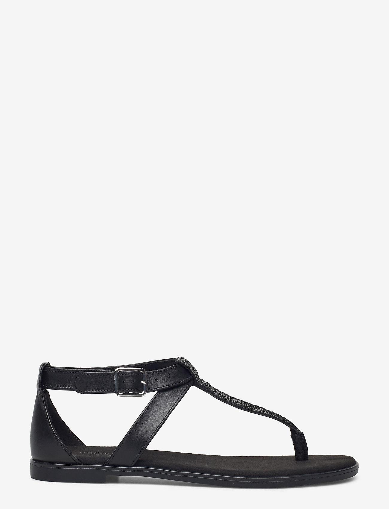 Clarks - Bay Post - platta sandaler - black interest - 1