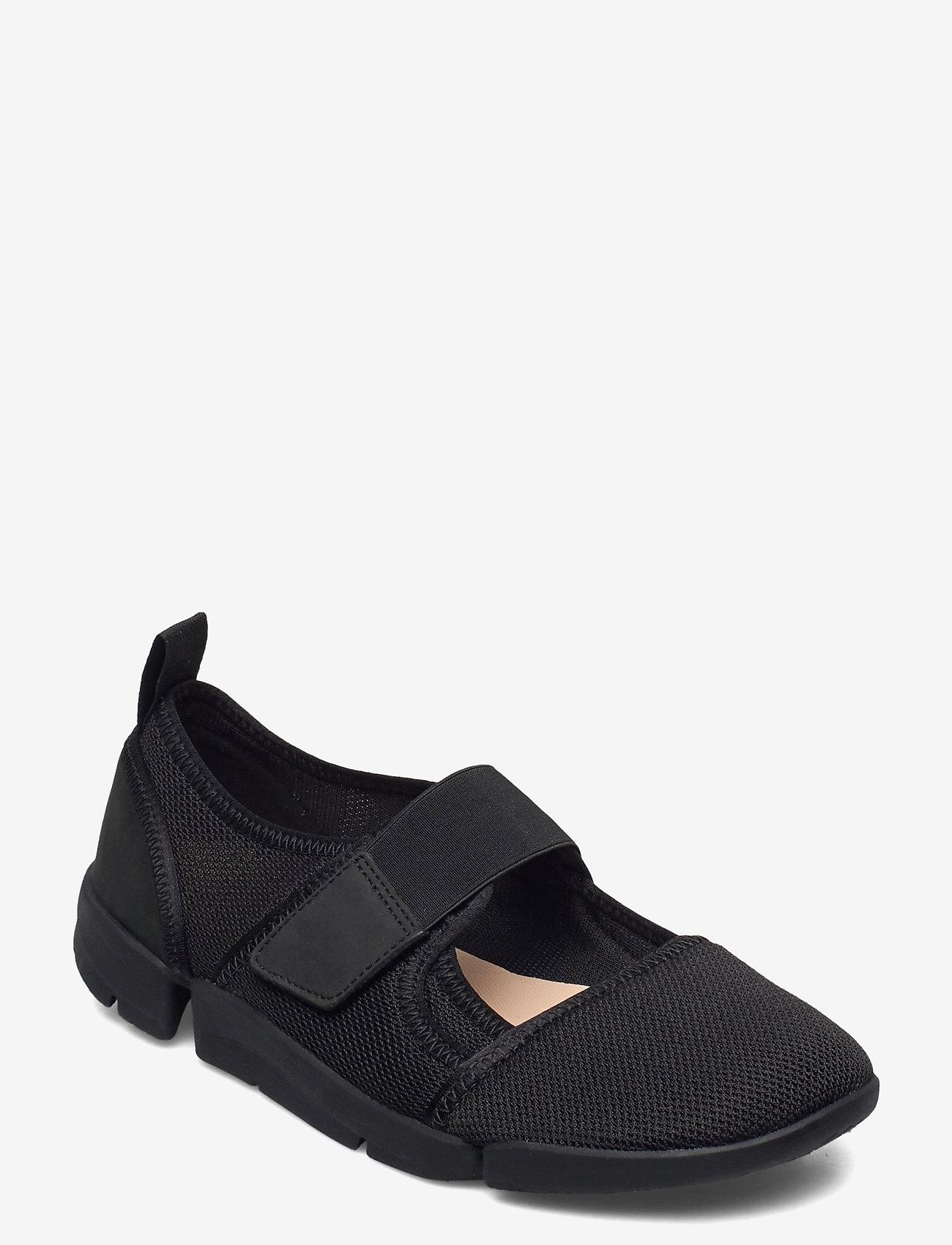Clarks - Tri Amelia Bar - ballerinas - black mesh - 0