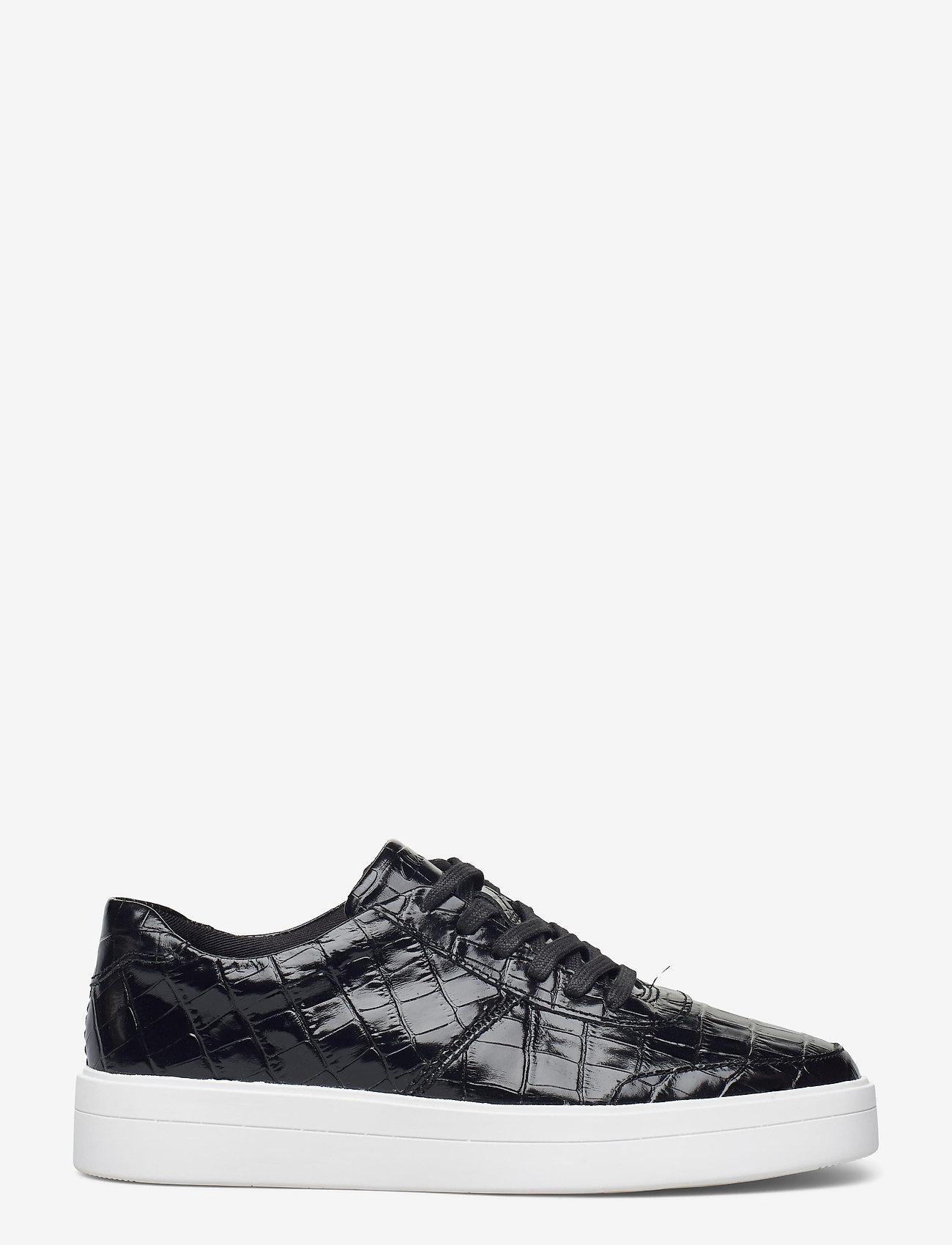 Clarks - Hero Walk. - lage sneakers - black croc - 1