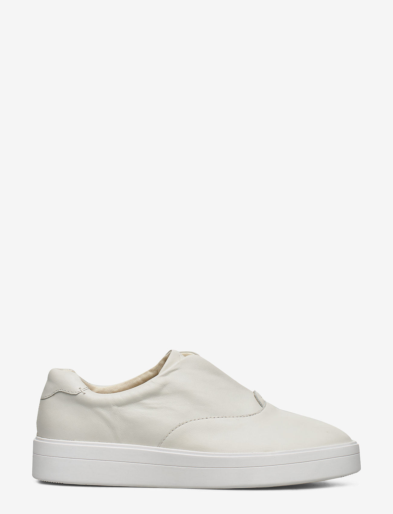 Clarks - Hero Step. - slip-on sneakers - white leather - 1