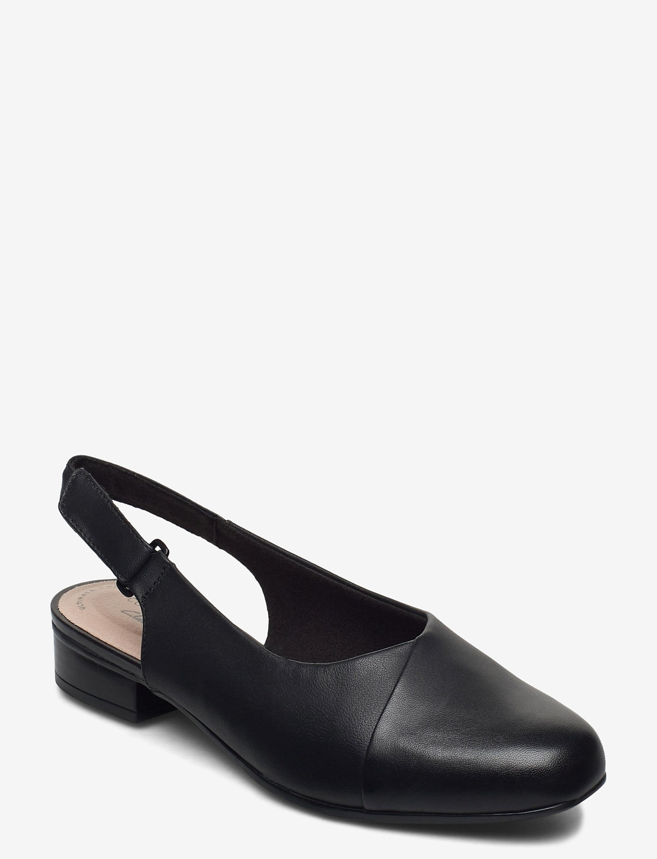 Clarks - Juliet Pull - ballerinas - black leather - 0