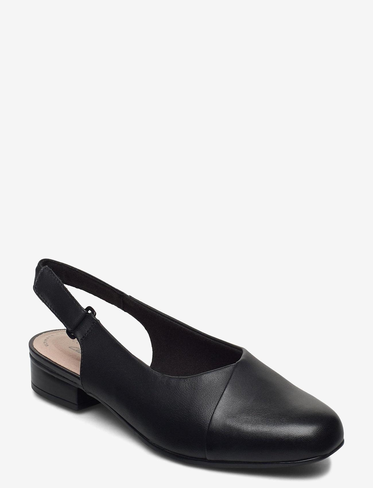Clarks - Juliet Pull - ballerinas - black leather - 0