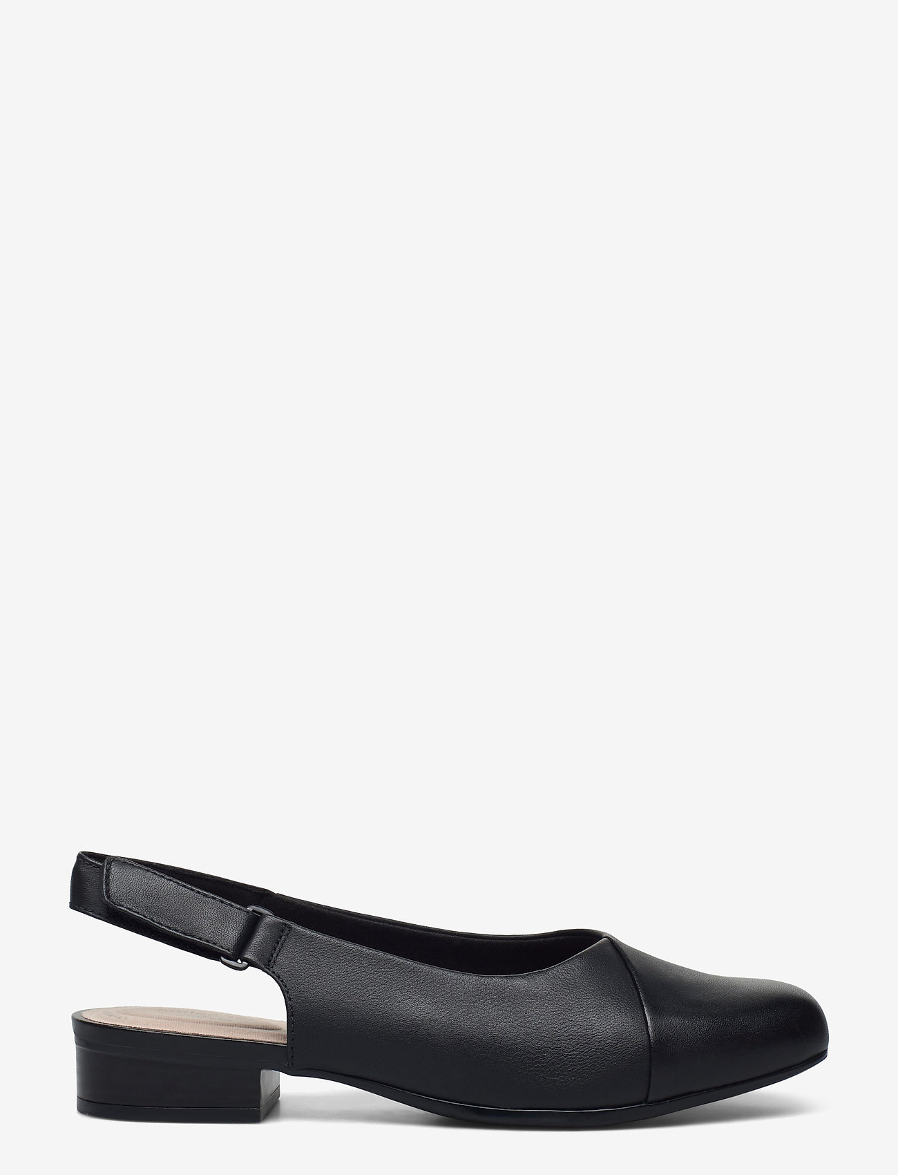Clarks - Juliet Pull - ballerinas - black leather - 1