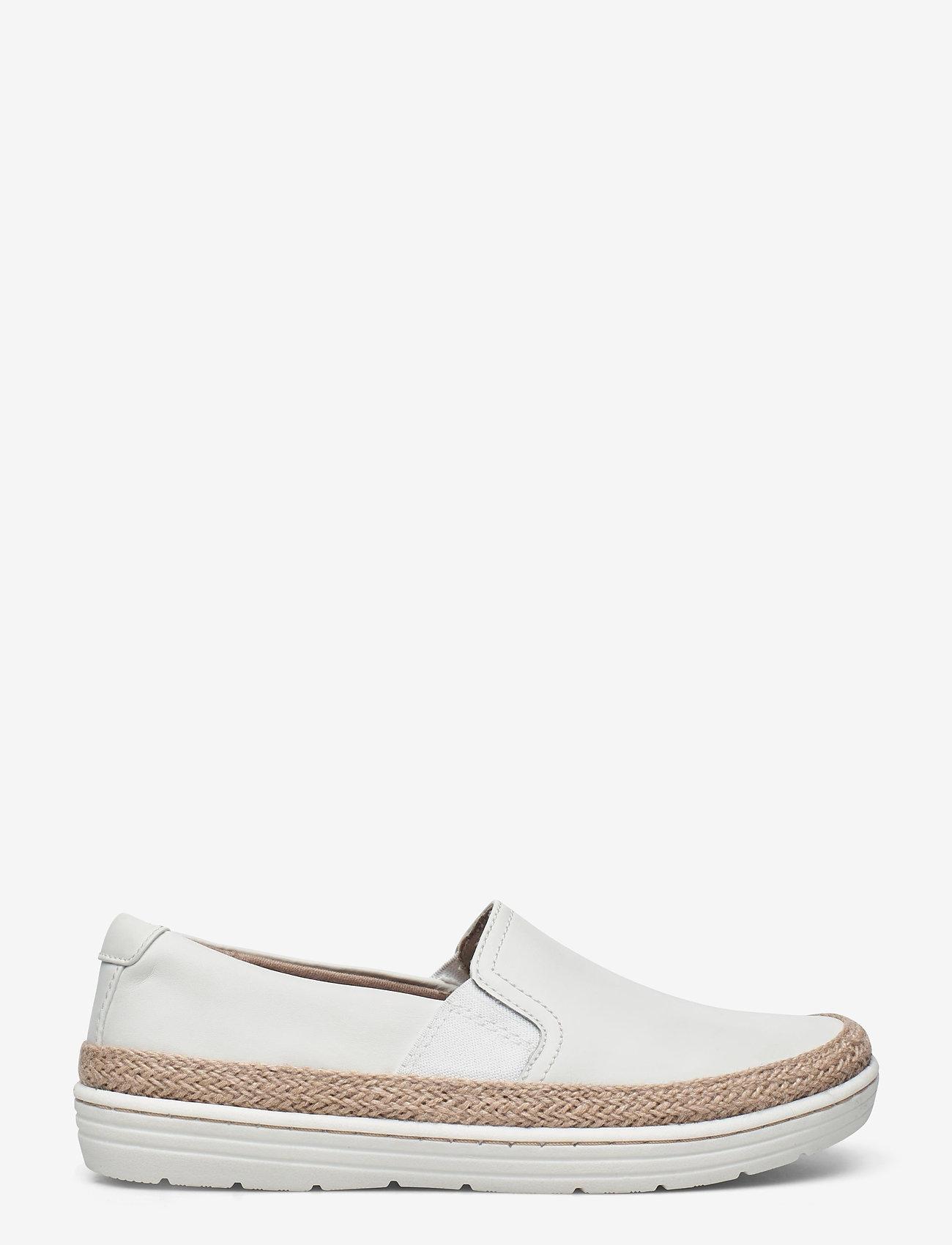 Clarks - Marie Sail - slip-on sneakers - white - 1