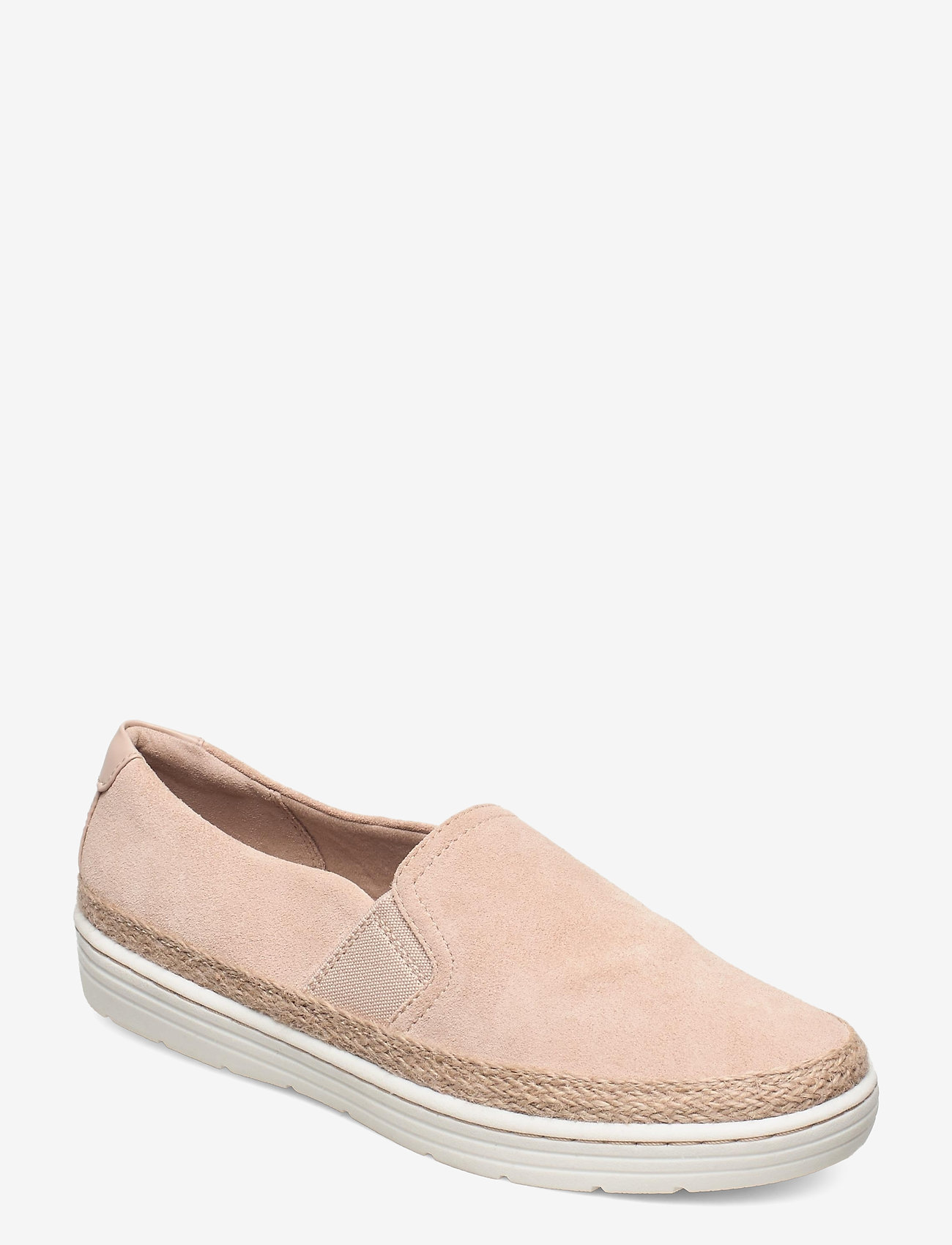 Clarks - Marie Sail - slip-on sneakers - blush suede - 0