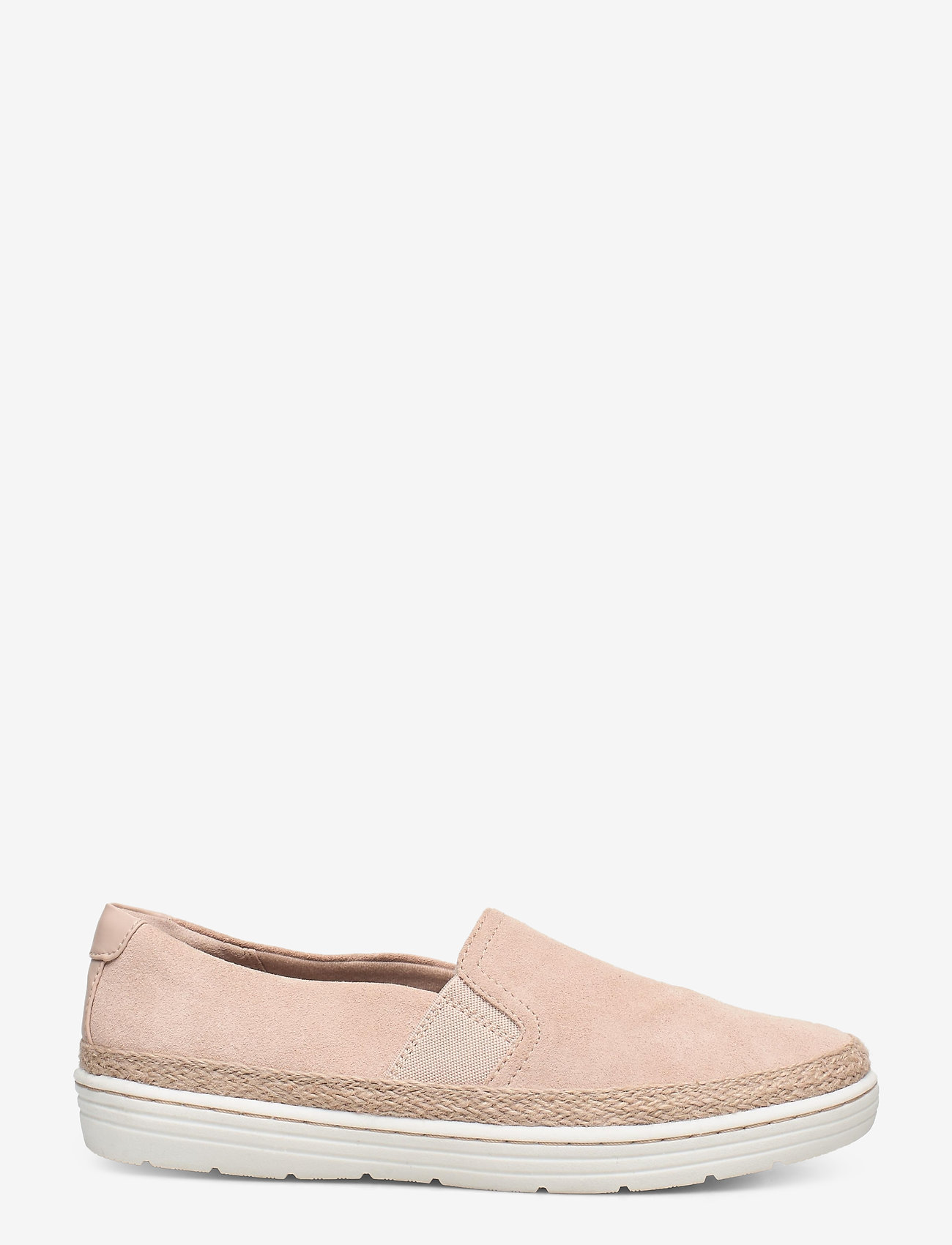 Clarks - Marie Sail - slip-on sneakers - blush suede - 1