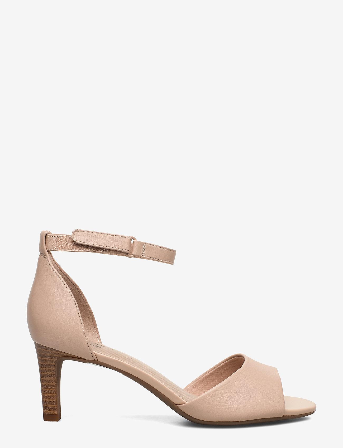 Clarks - Alice Greta - sandales à talons - blush leather - 1