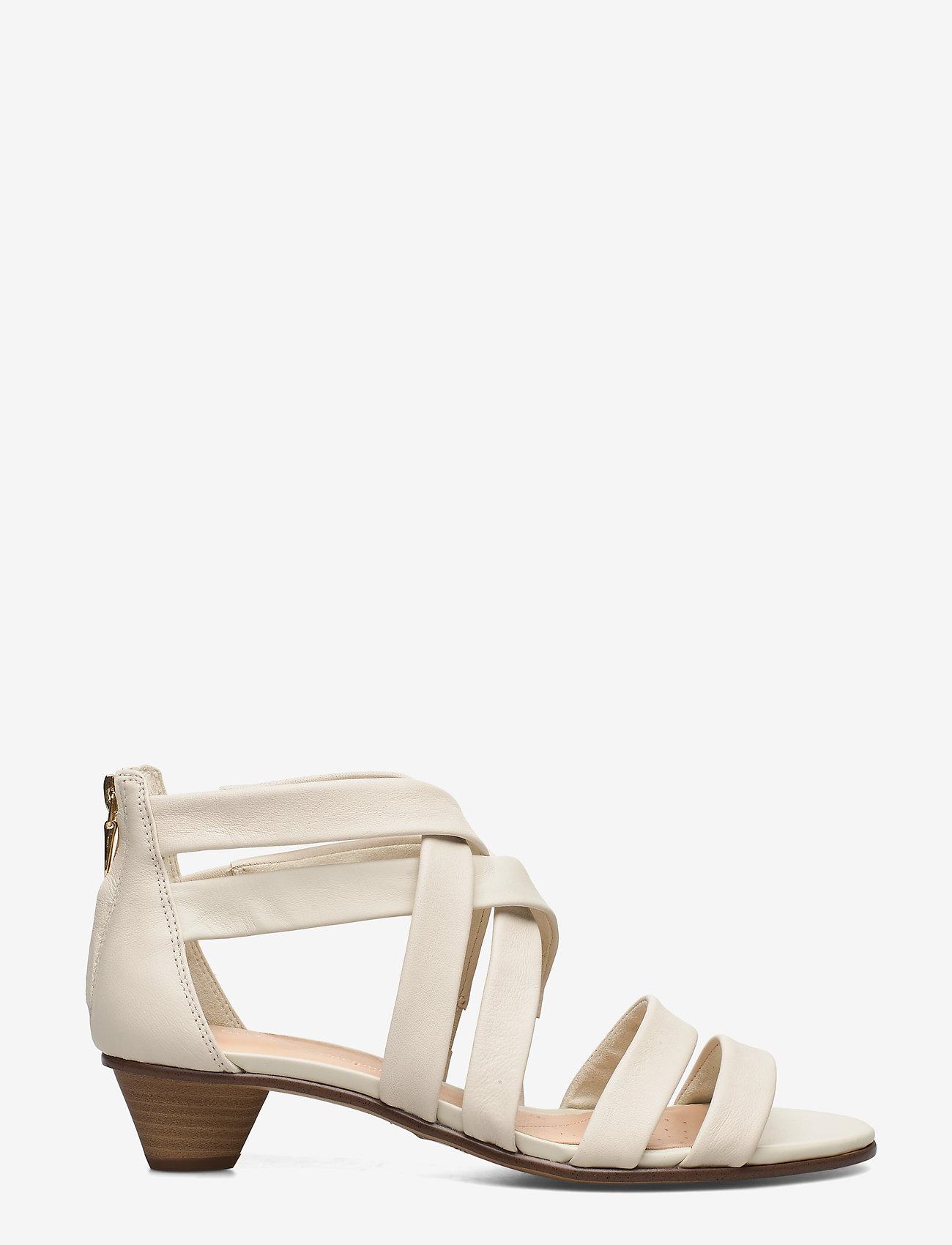 Clarks - Mena Silk - sandales à talons - white - 1