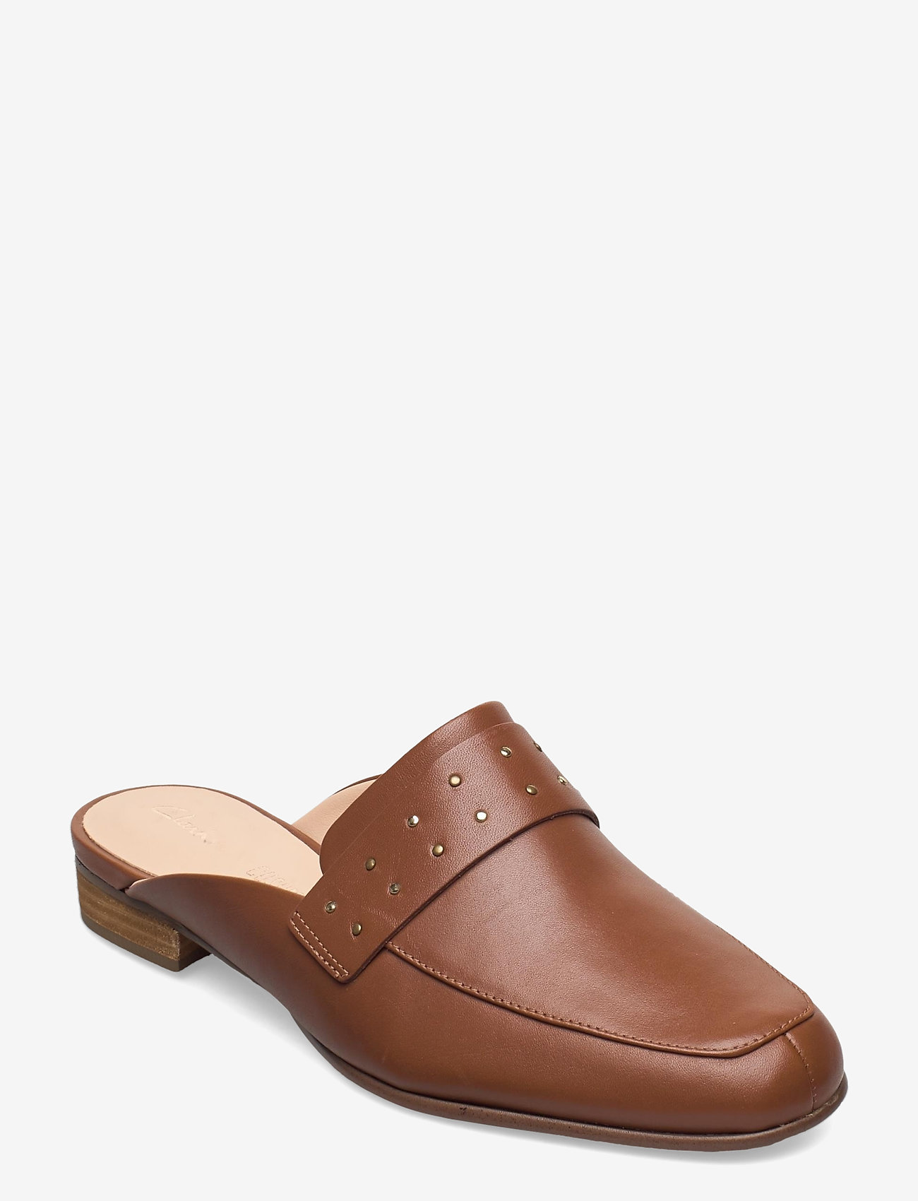 Clarks - Pure Mule - mules & slipins - tan leather - 0