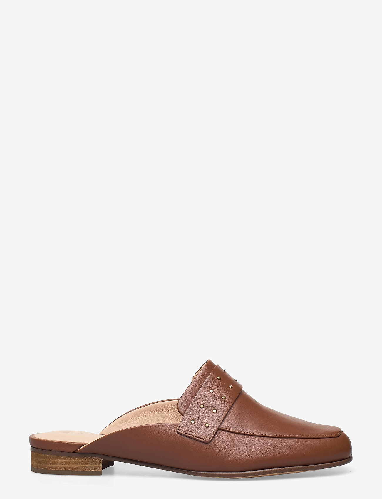Clarks - Pure Mule - mules & slipins - tan leather - 1