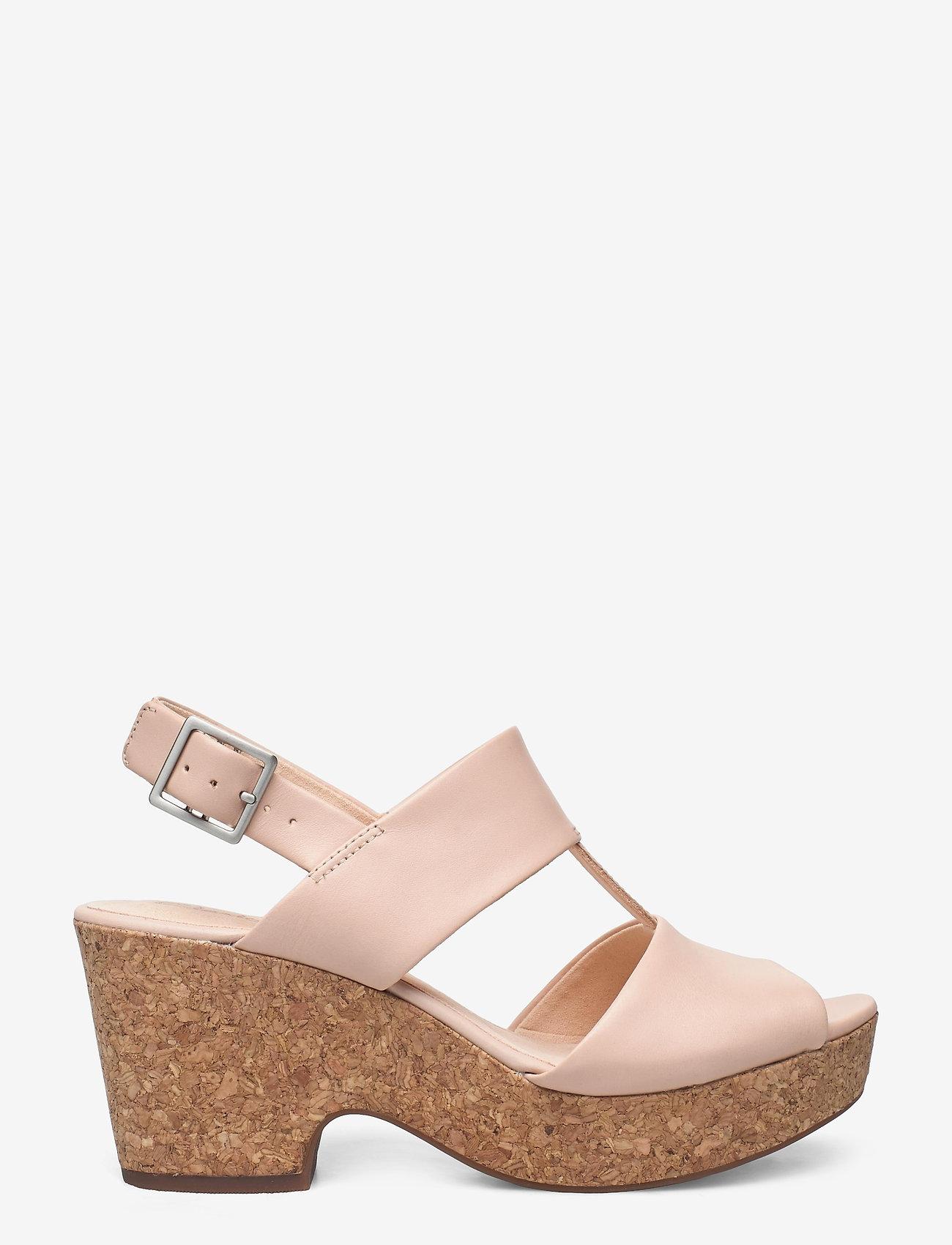 Clarks - Maritsa Glad - högklackade sandaler - blush leather - 1