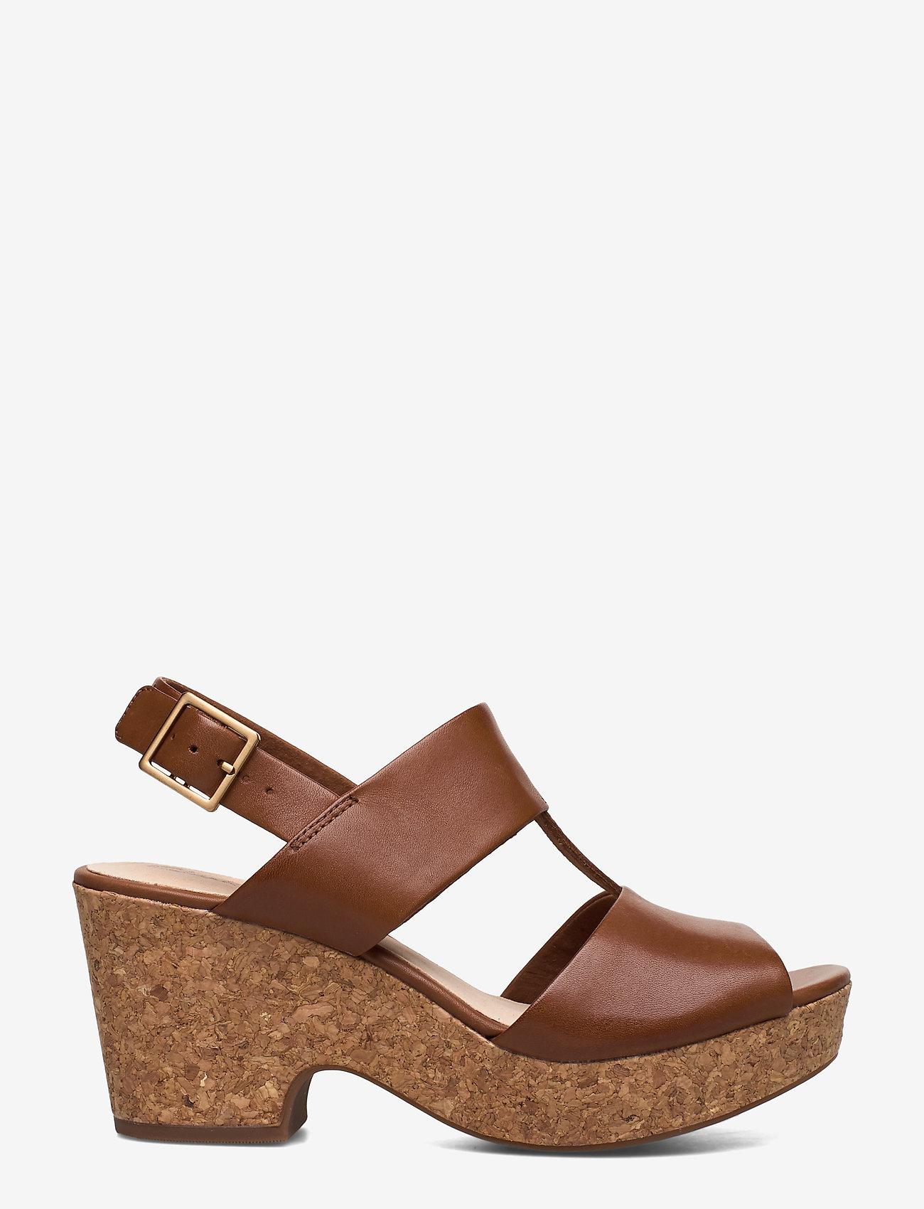 Clarks - Maritsa Glad - högklackade sandaler - tan leather - 1