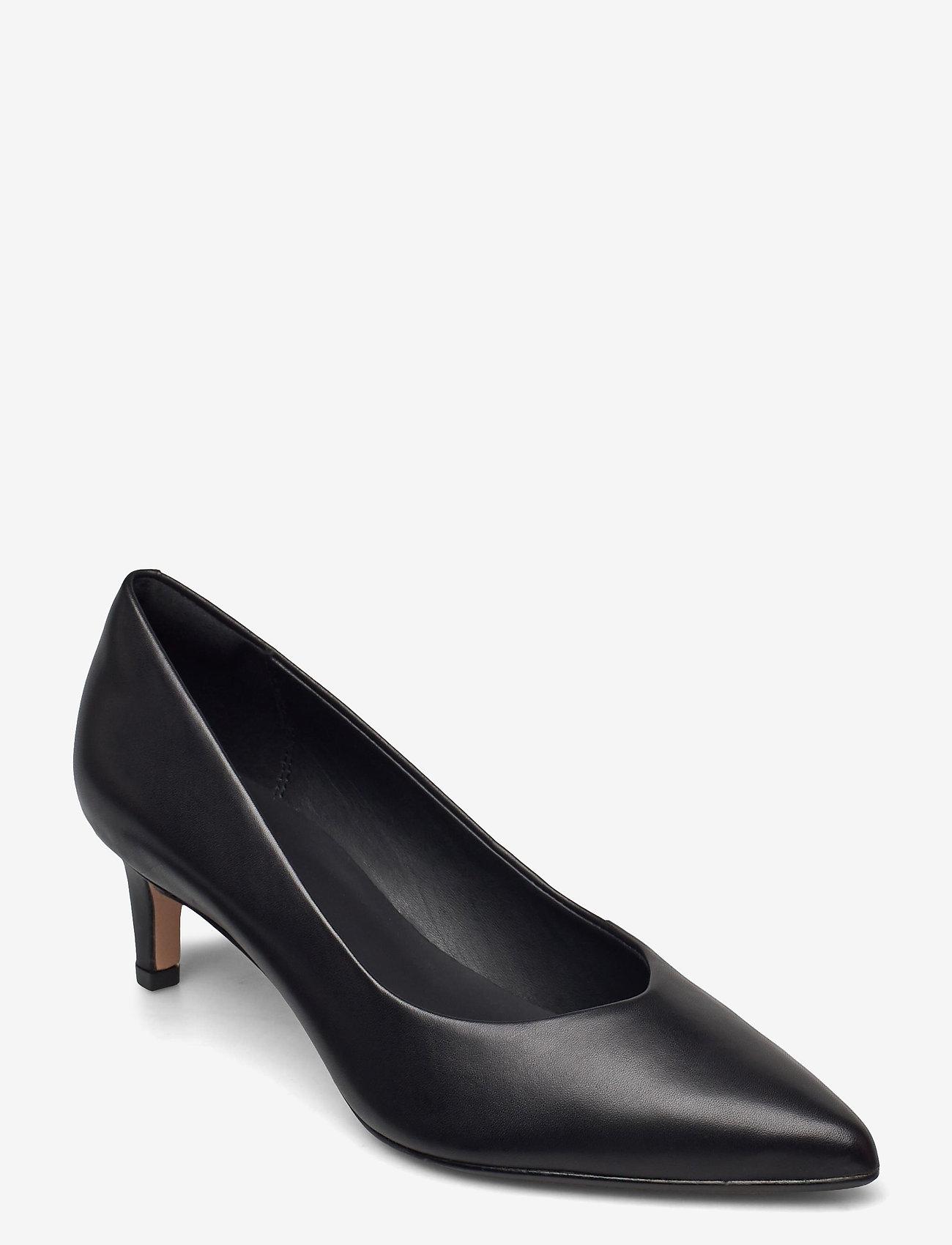 Clarks - Laina55 Court2 - klassiska pumps - black leather - 0