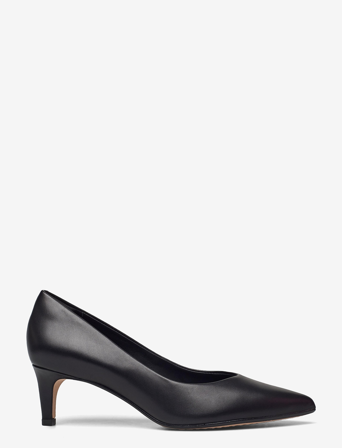 Clarks - Laina55 Court2 - klassiska pumps - black leather - 1
