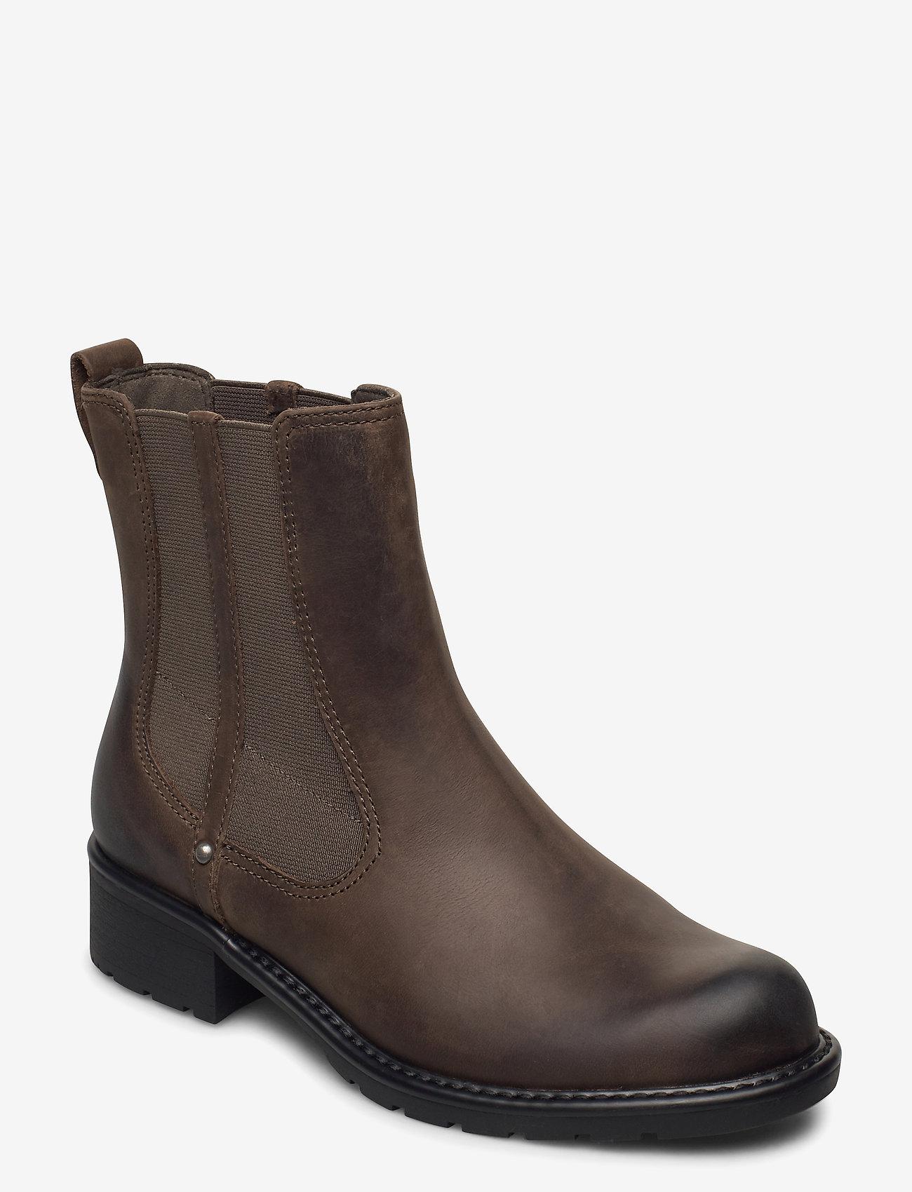 Clarks - Orinoco Club - chelsea boots - dark olive lea - 0