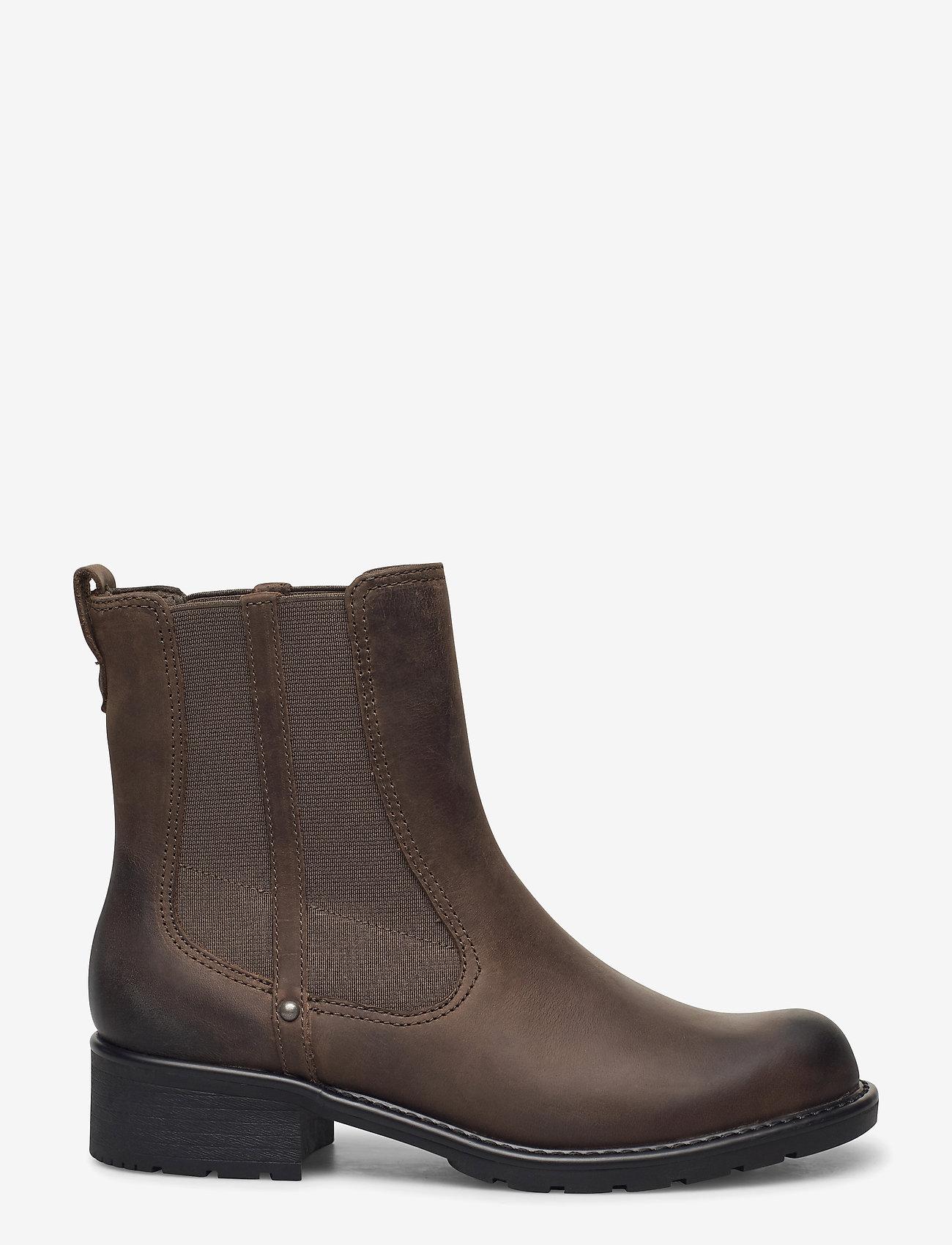Clarks - Orinoco Club - chelsea boots - dark olive lea - 1