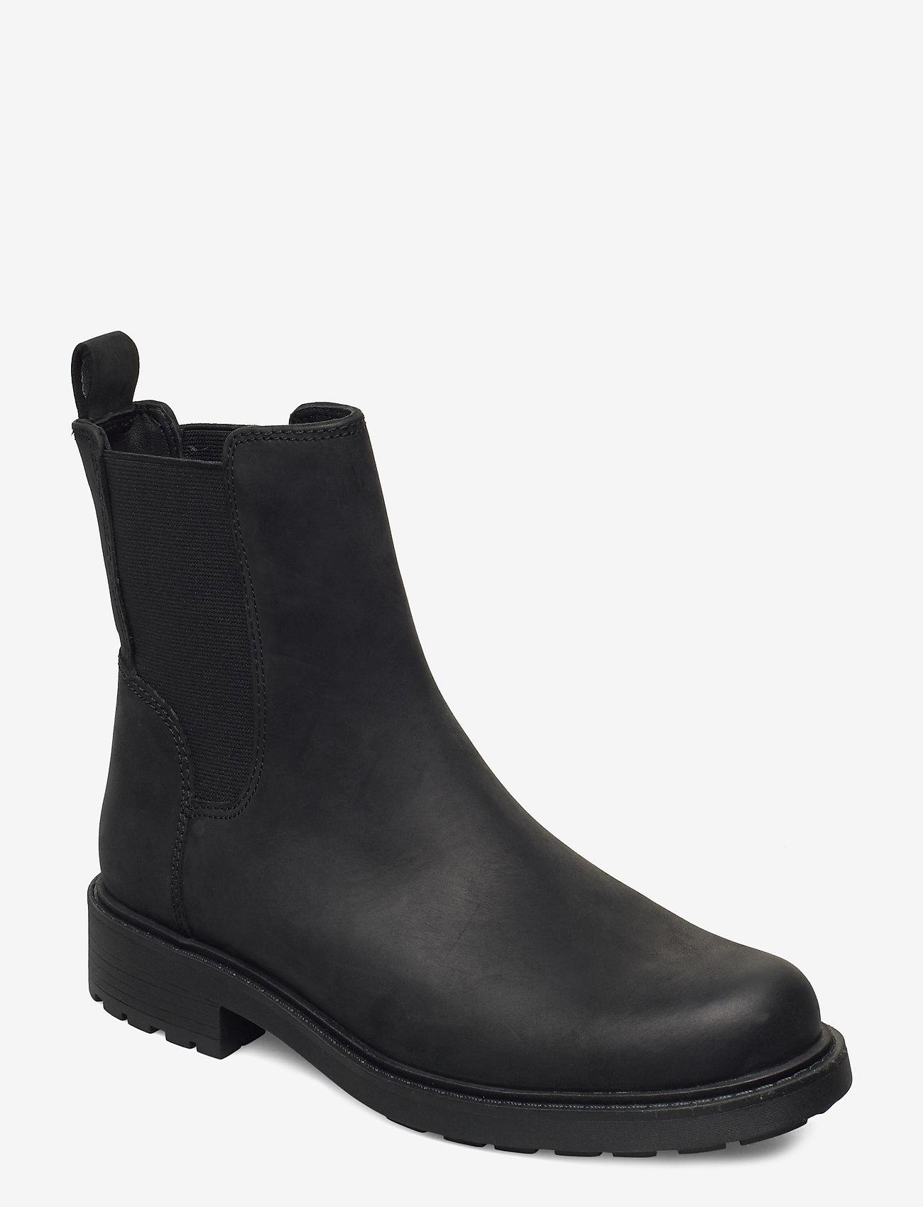 Clarks - Orinoco2 Top - chelsea boots - black leather - 0