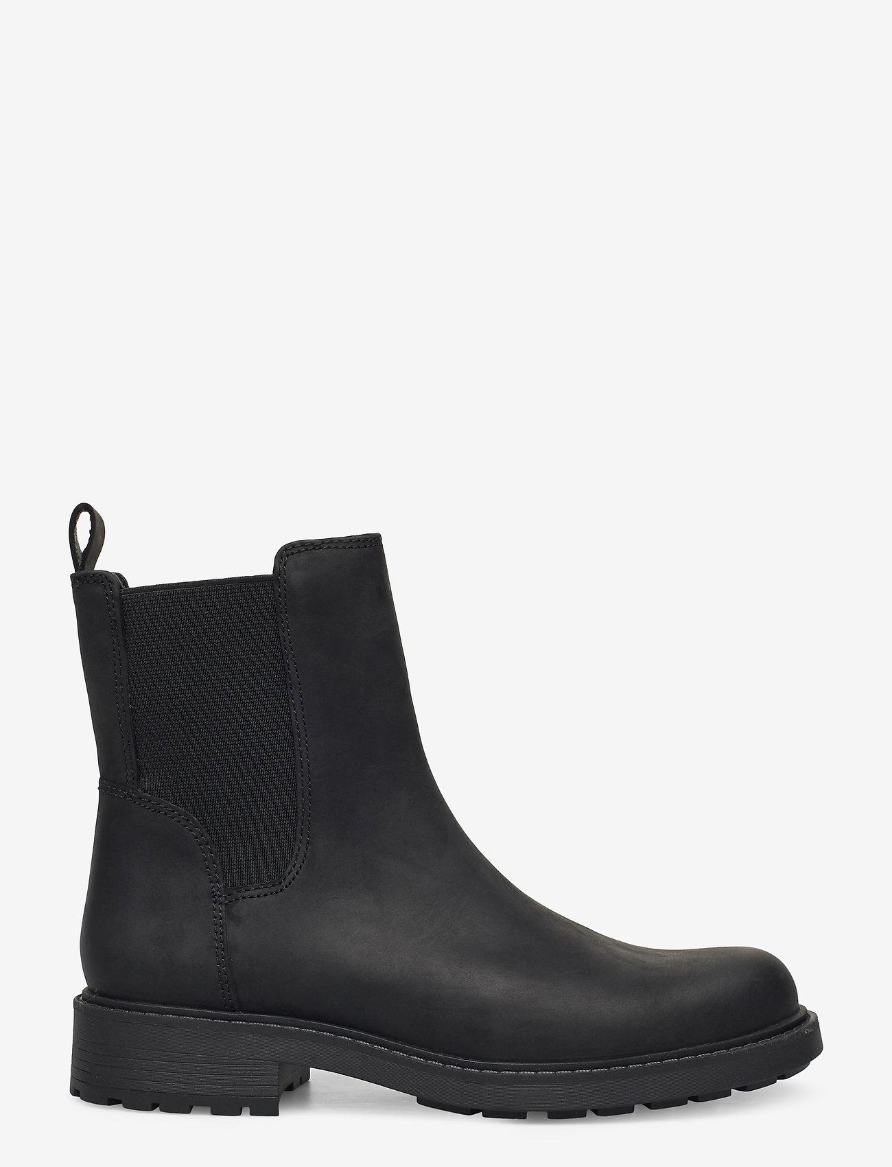 Clarks - Orinoco2 Top - chelsea boots - black leather - 1