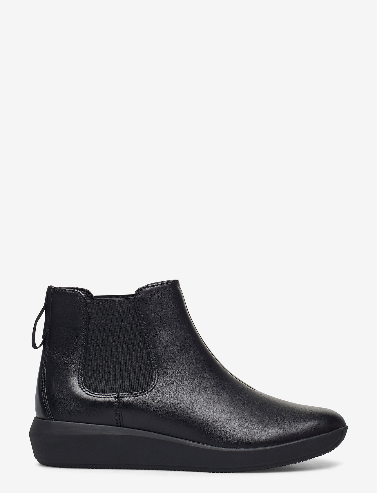 Clarks - Tawnia Mid - platta ankelboots - black leather - 1