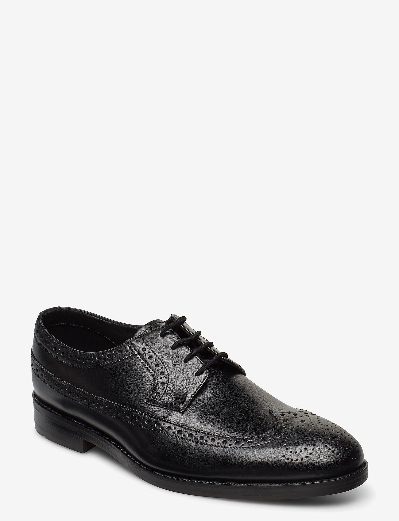 Clarks - Oliver Wing - brogues - black leather - 0