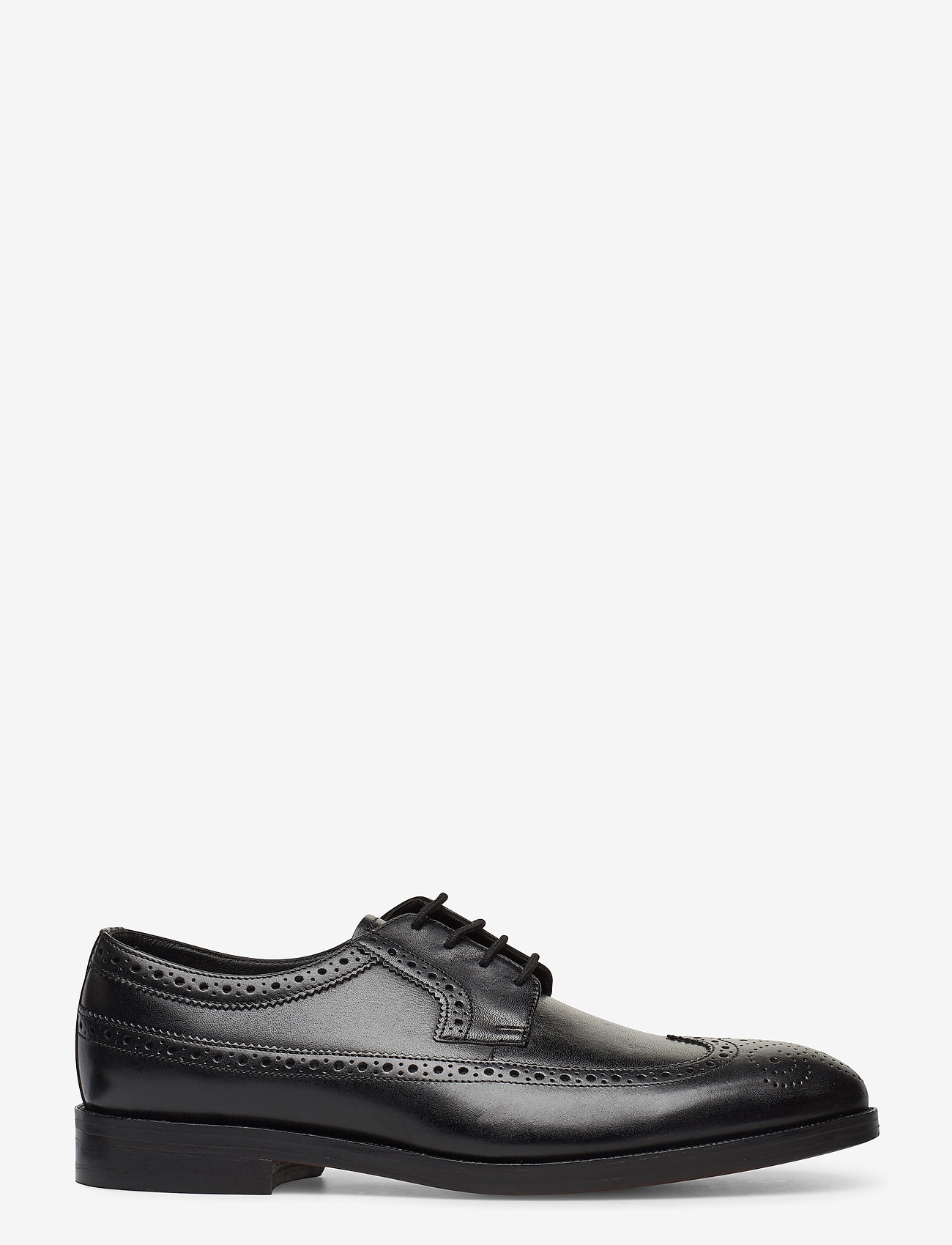 Clarks - Oliver Wing - brogues - black leather - 1