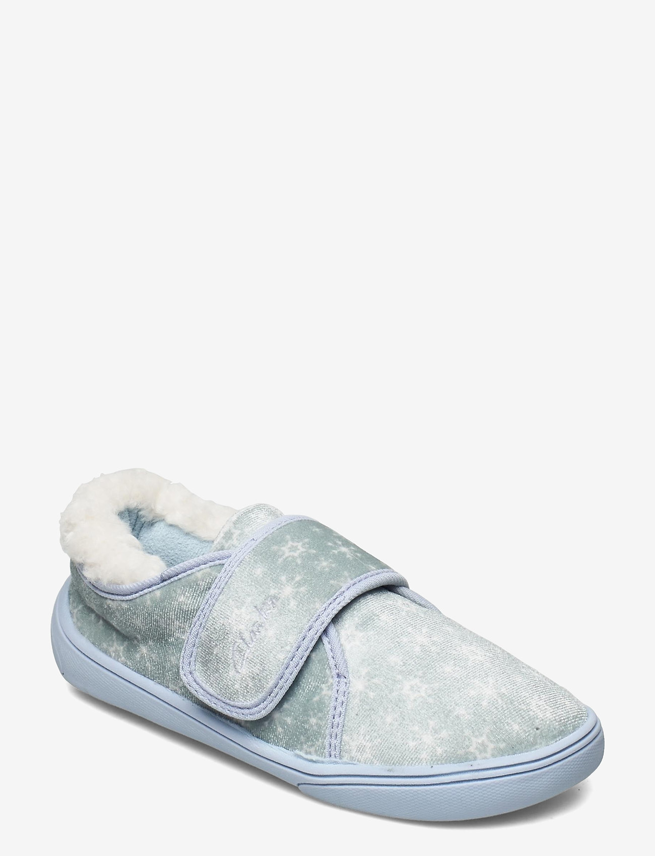 Clarks - Holmly Ice K - hausschuhe - light blue - 0