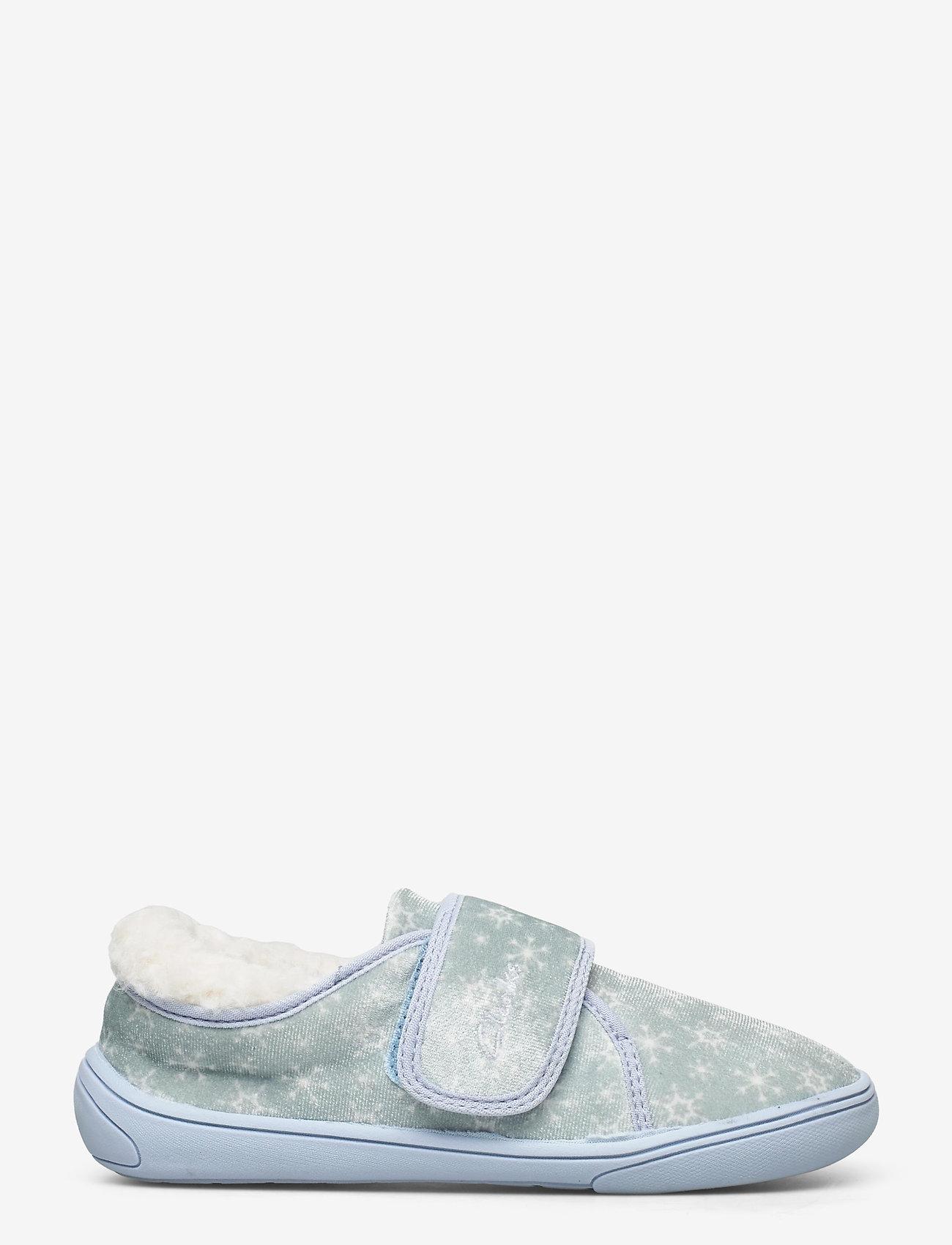 Clarks - Holmly Ice K - hausschuhe - light blue - 1