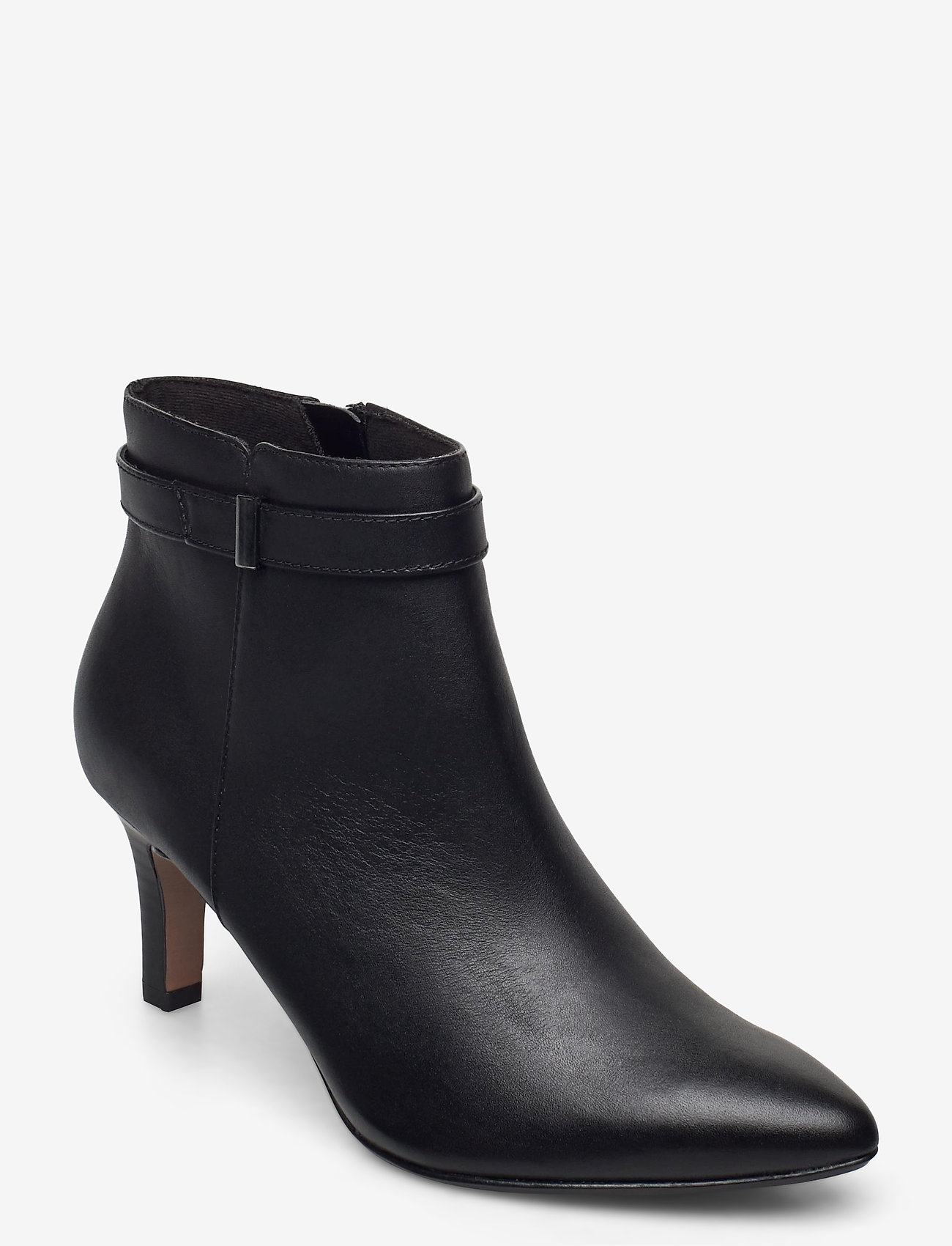 Clarks - Illeana Calla - ankelboots med klack - black leather - 0