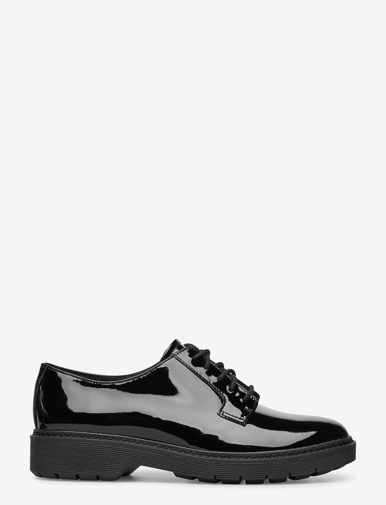 Clarks - Witcombe Lace - snörskor - black pat - 0
