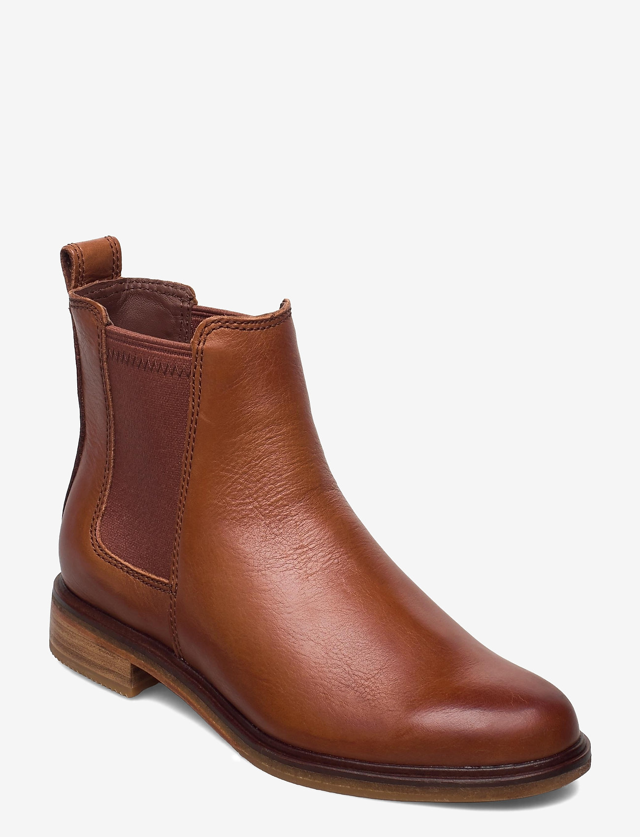 Clarks - Clarkdale Arlo - chelsea boots - tan leather - 0