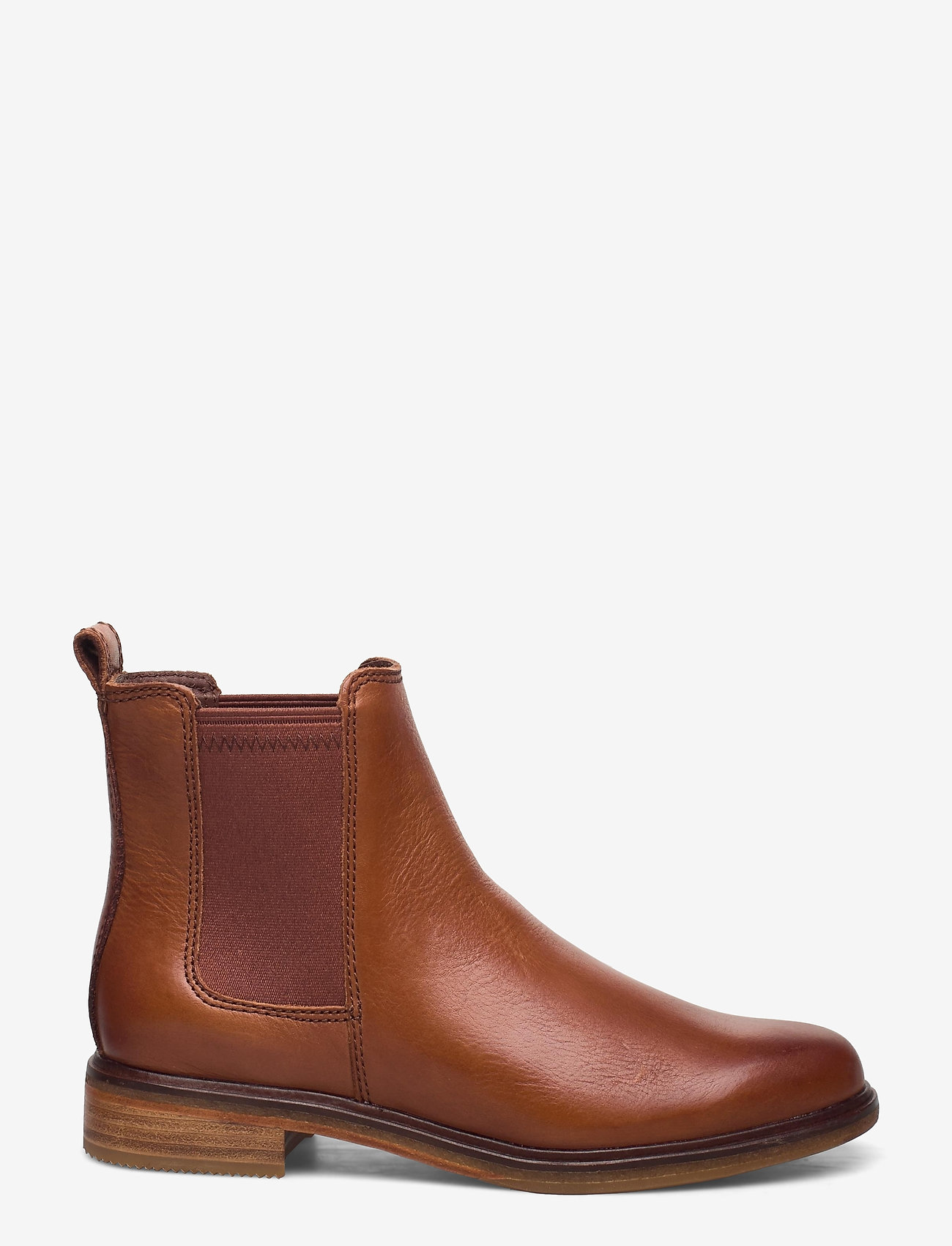 Clarks - Clarkdale Arlo - chelsea boots - tan leather - 1
