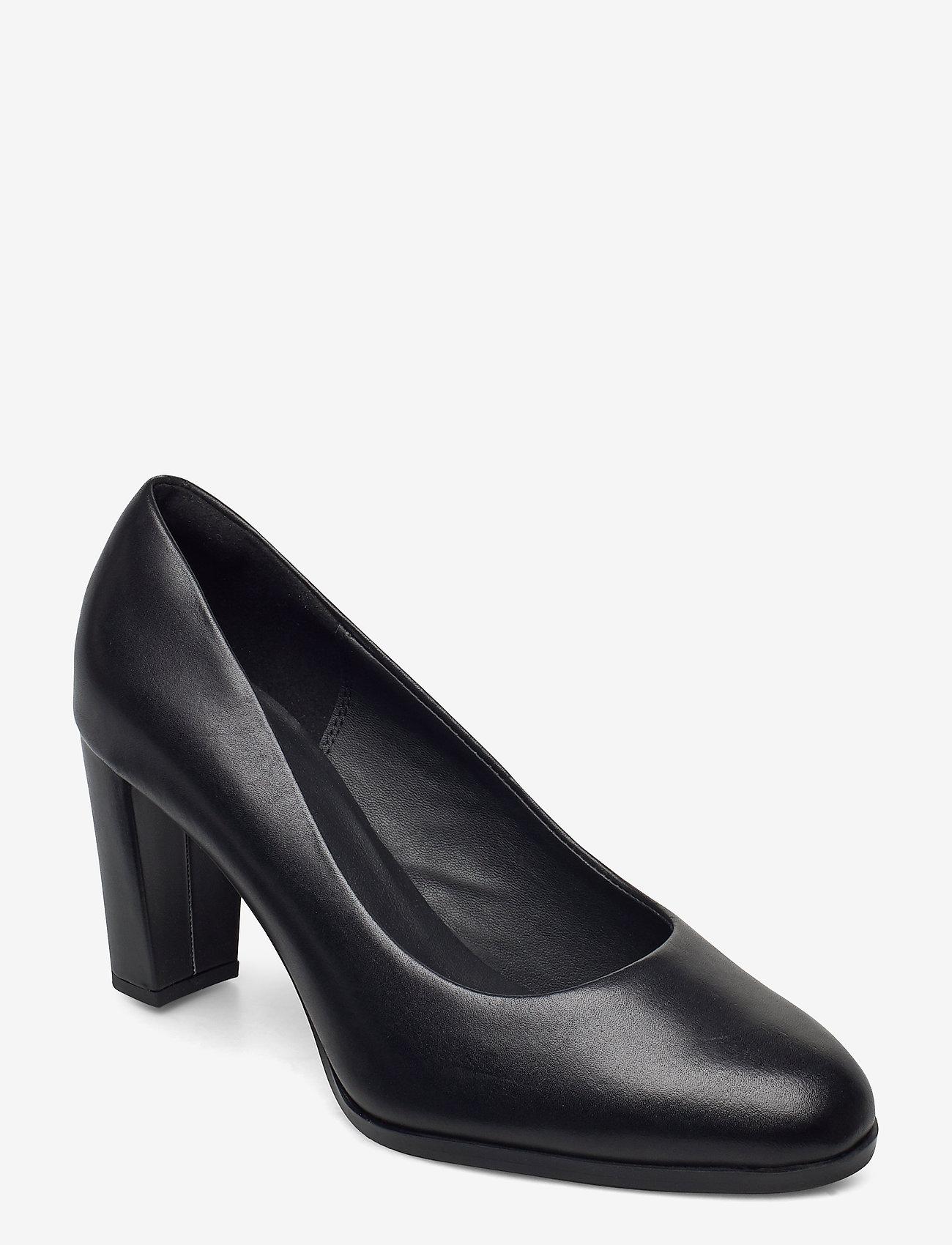 Clarks - Kaylin Cara 2 - klassiske pumps - black leather - 0