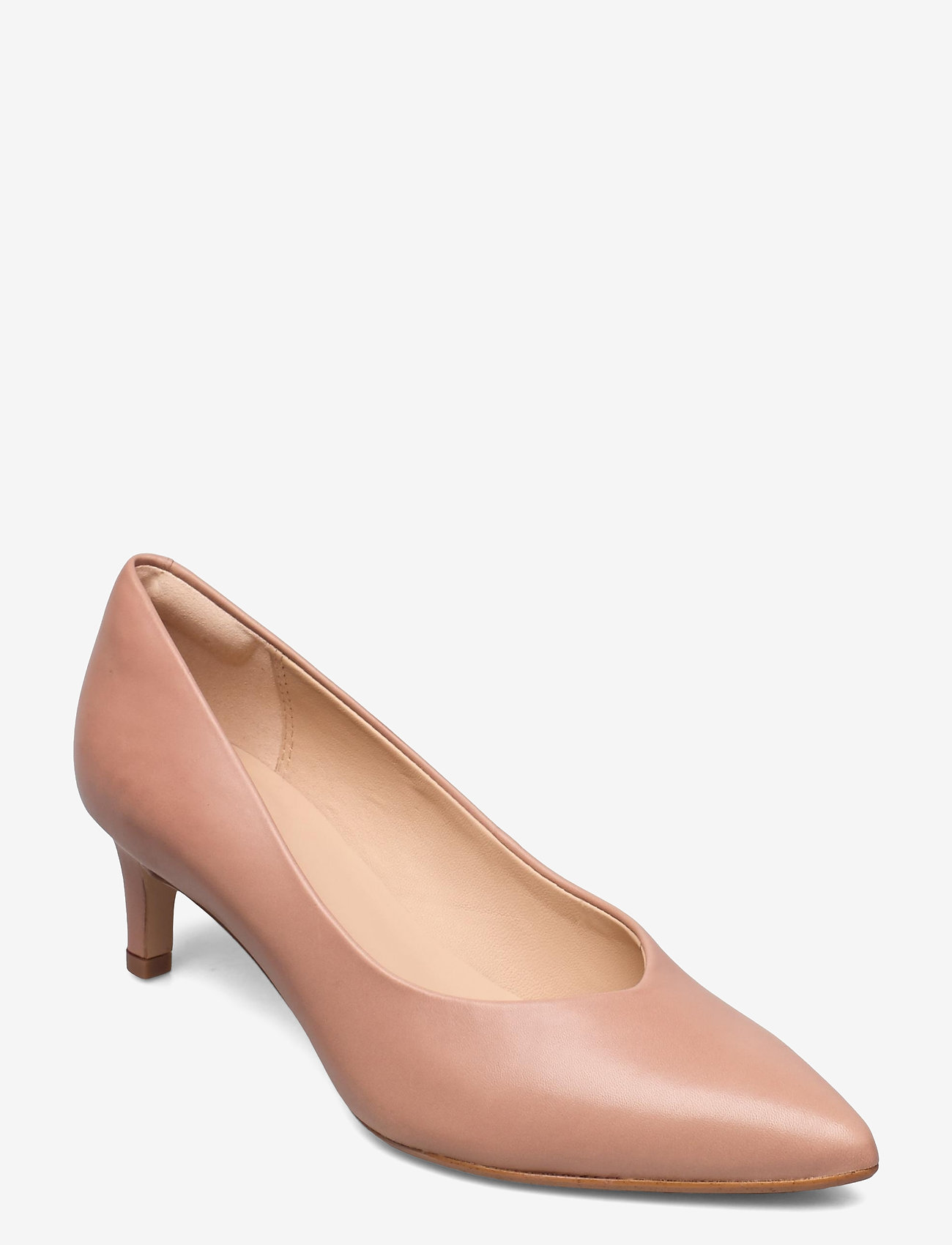 Clarks - Laina55 Court2 - klassiska pumps - praline leather - 0