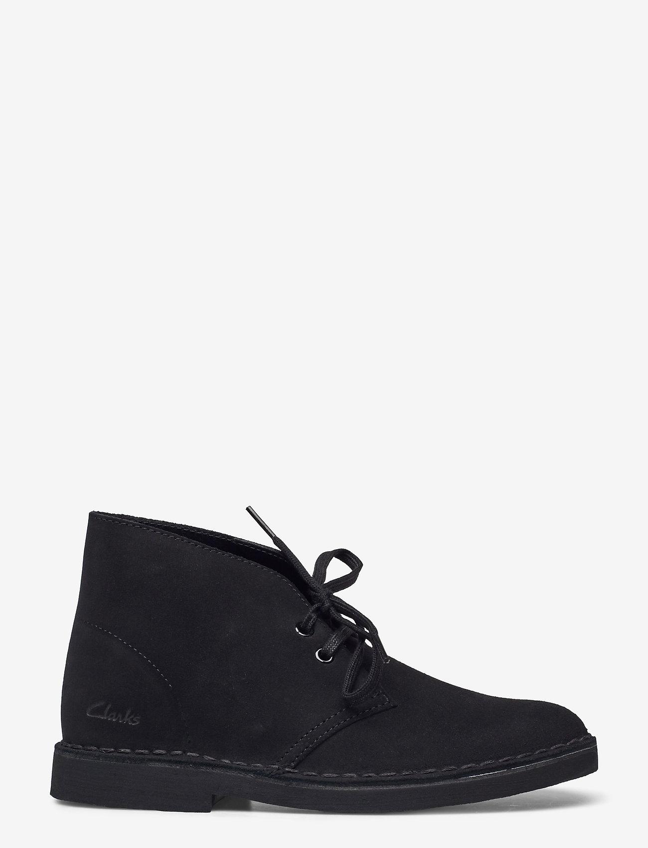 Clarks - Desert Boot 2 - flache stiefeletten - black sde - 1