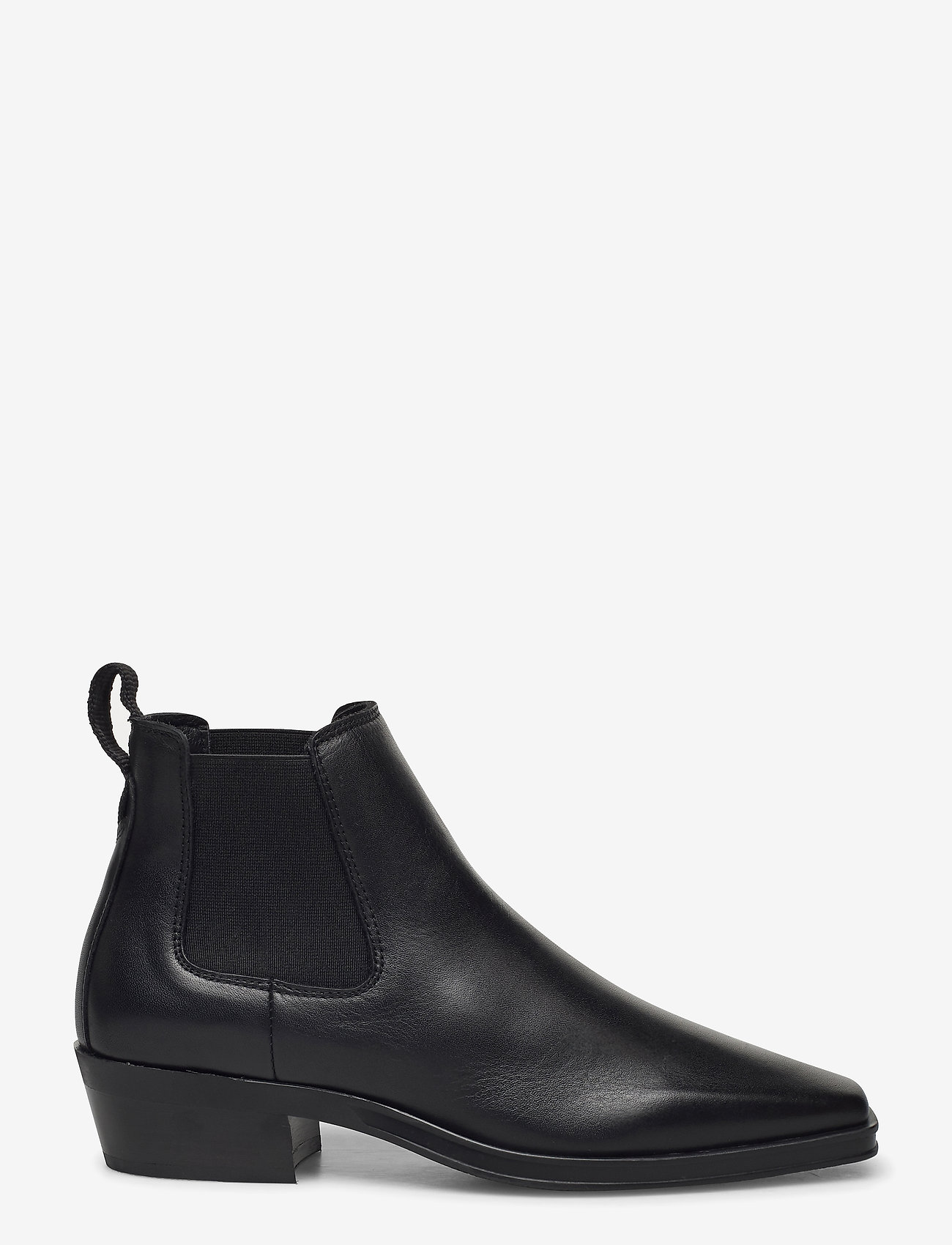 Clarks - Alcina Top - platta ankelboots - black leather - 1