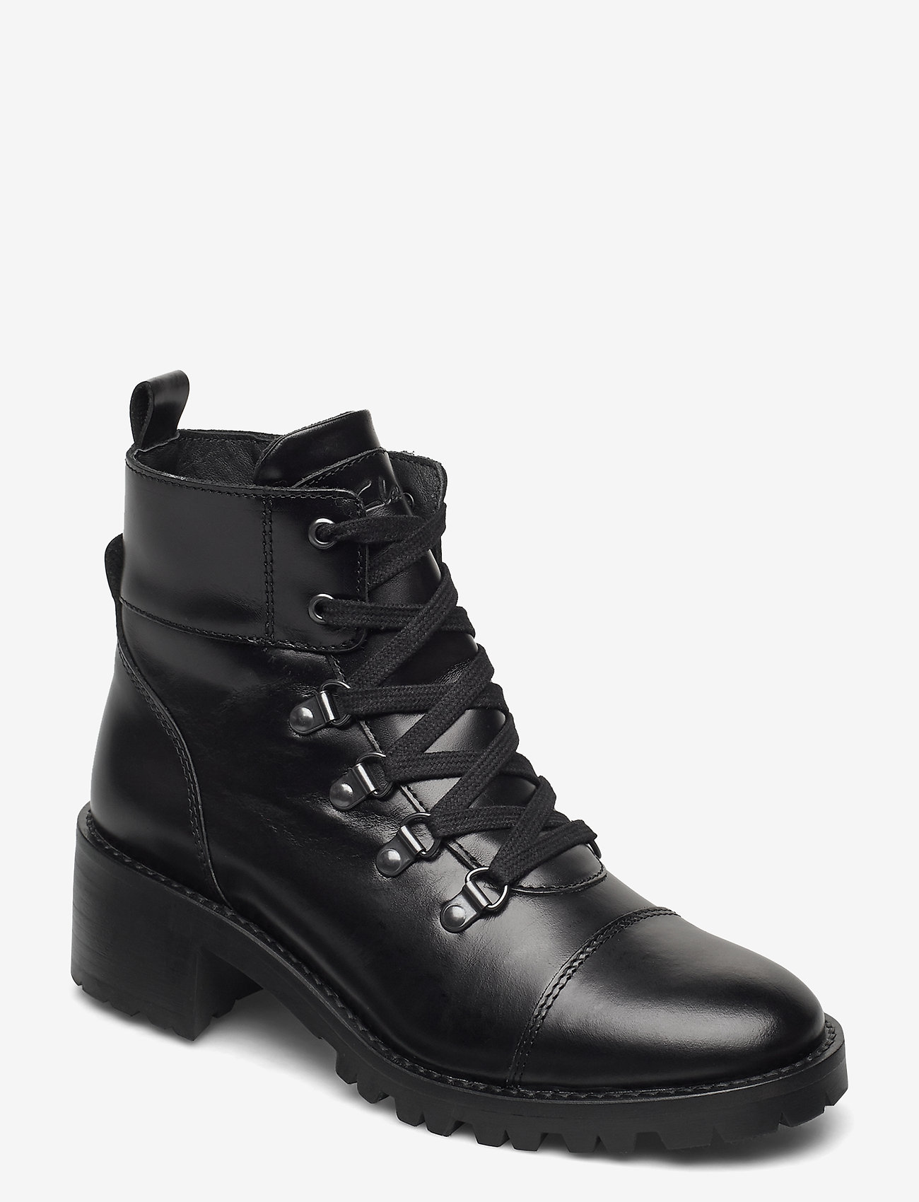Clarks - Roseleigh Sky - ankelboots med klack - black leather - 0
