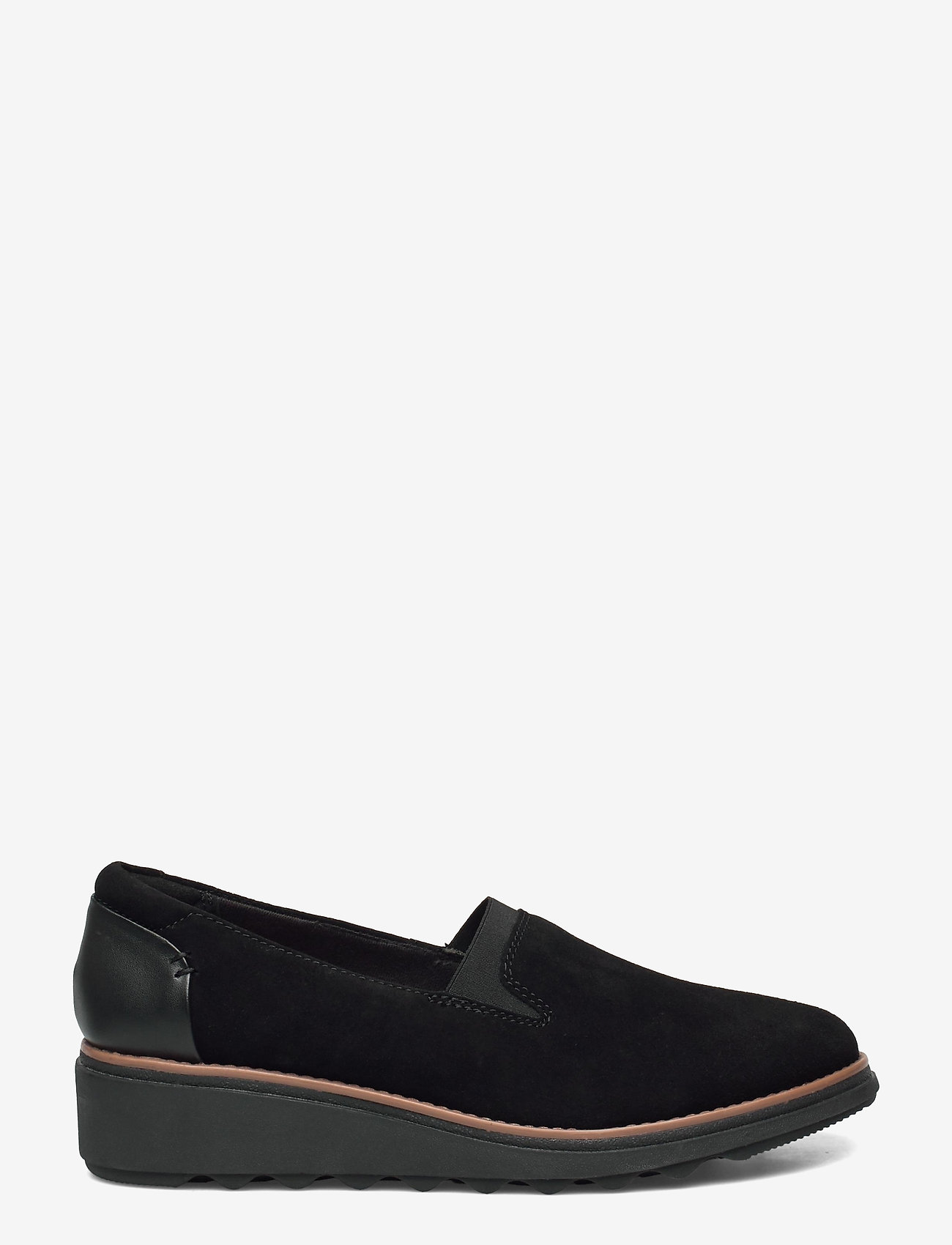 Clarks - Sharon Dolly - loafers - black - 1