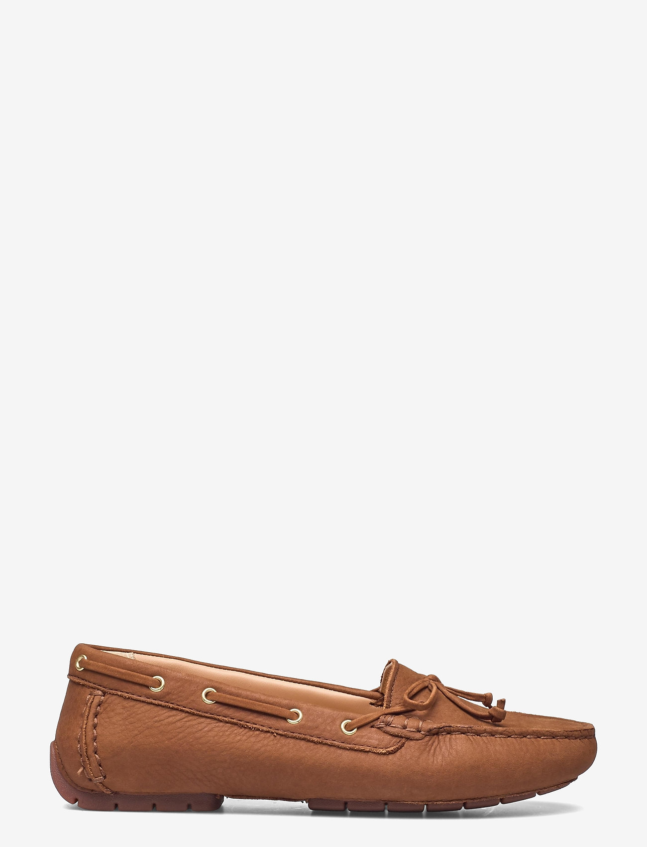 Clarks - C Mocc Boat2 - loafers - tan leather - 1