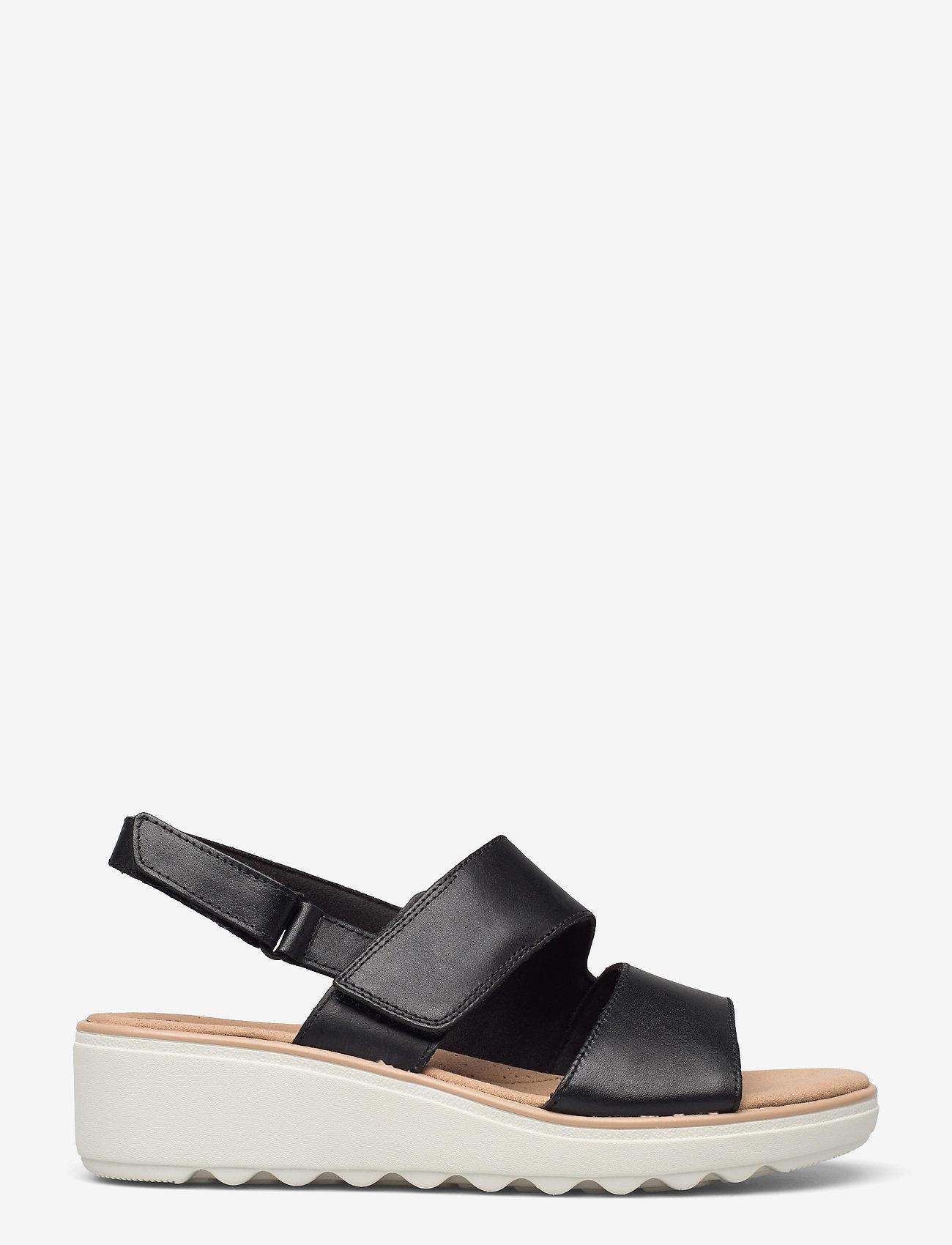Clarks - Jillian Pearl - sandales - black leather - 1