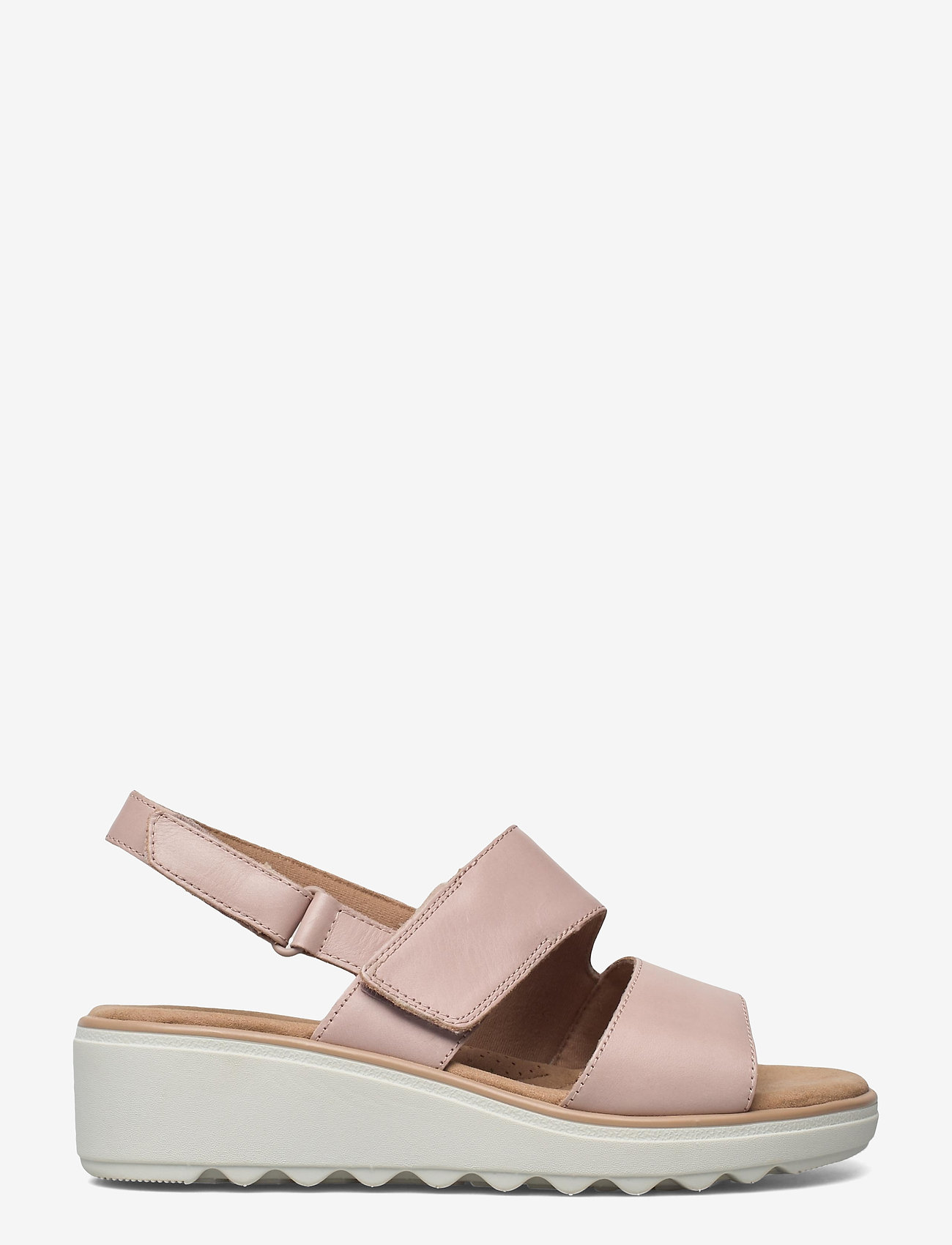 Clarks - Jillian Pearl - platta sandaler - dusty rose - 1