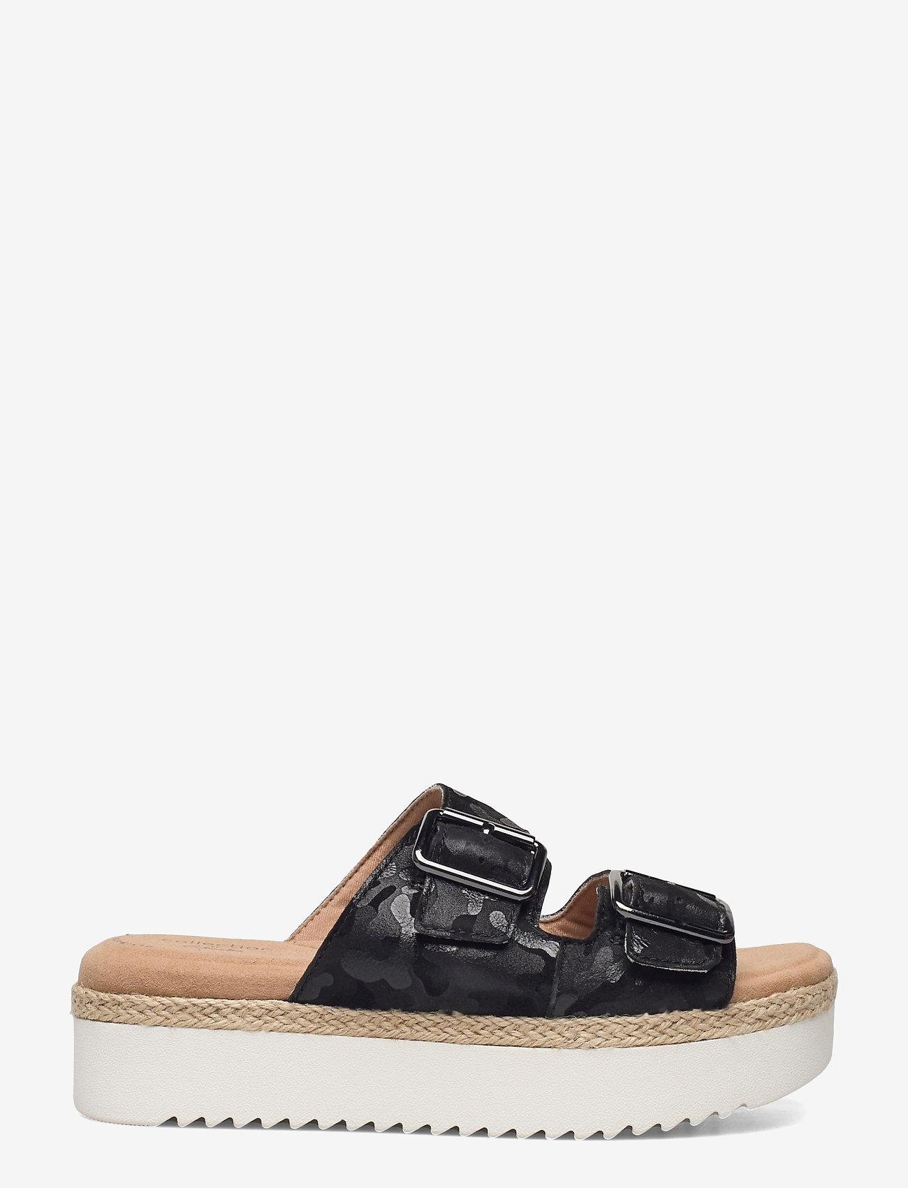 Clarks - Lana Beach - platta sandaler - black interest - 1